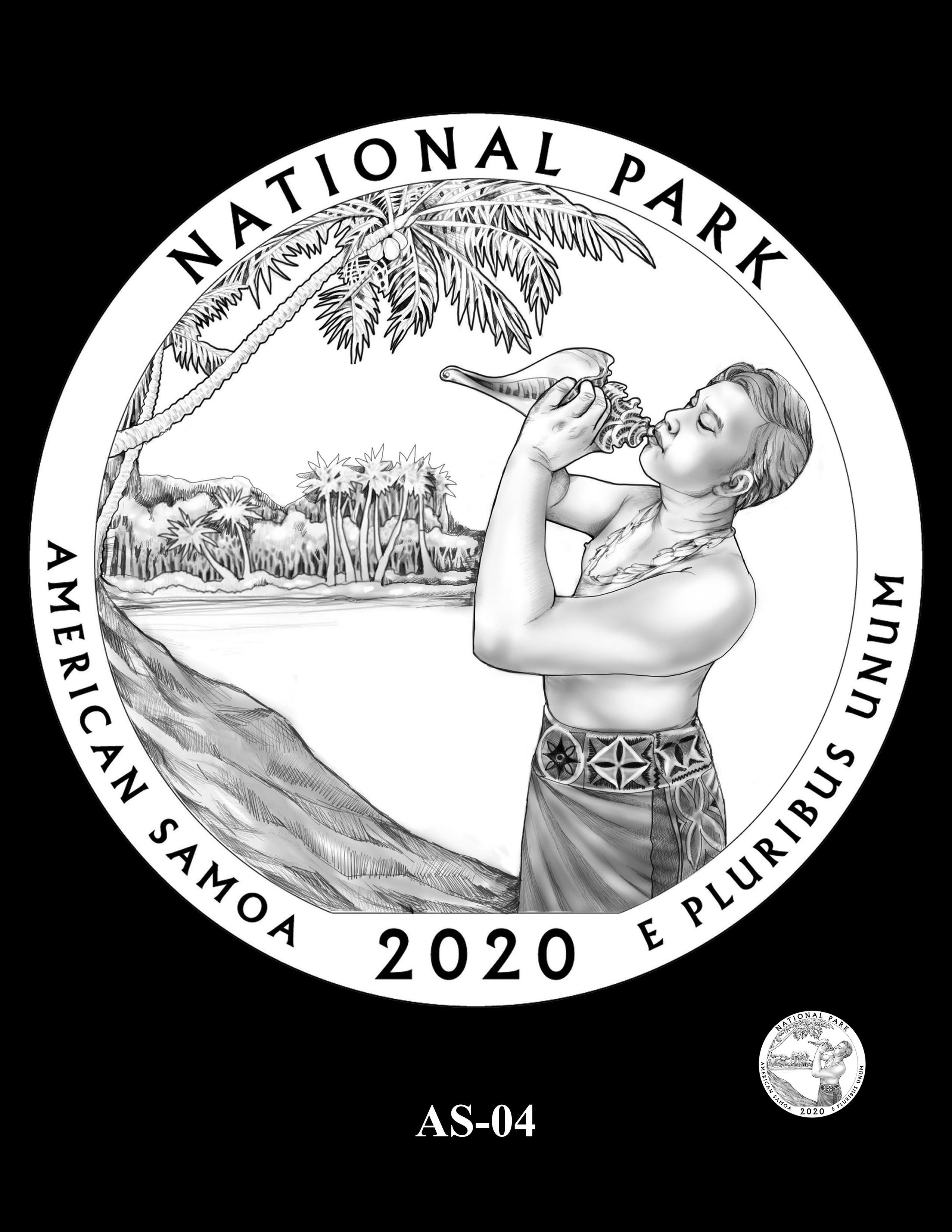 AS-04 -- 2020 America the Beautiful Quarters® Program