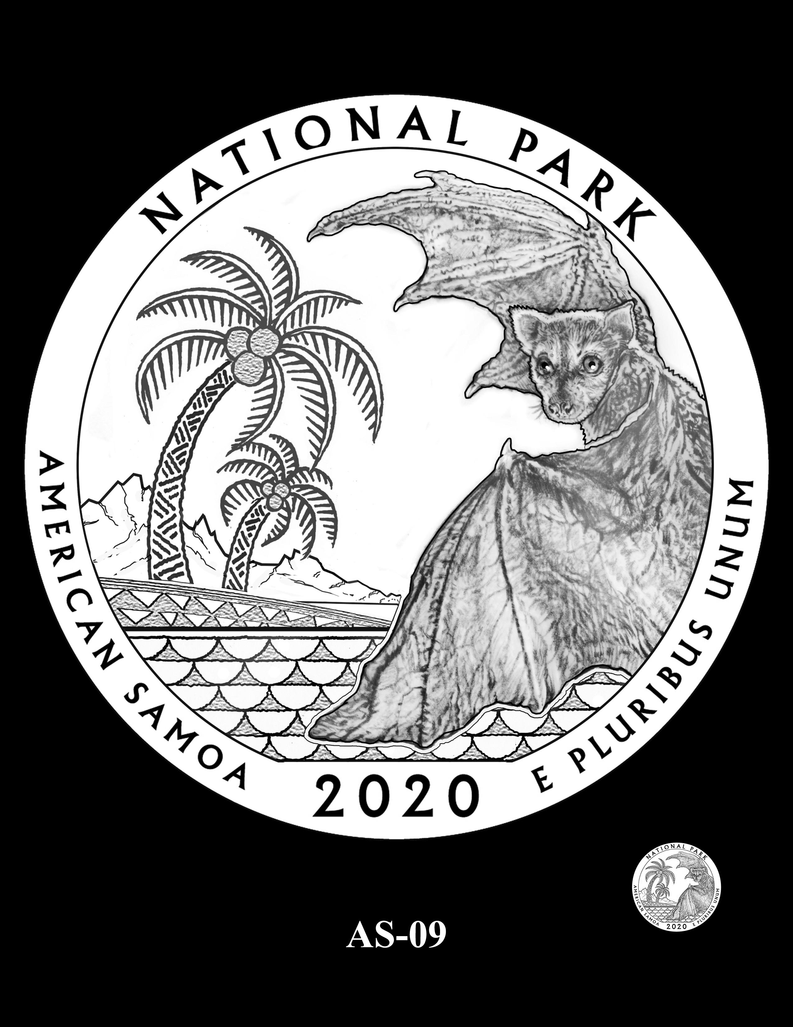 AS-09 -- 2020 America the Beautiful Quarters® Program