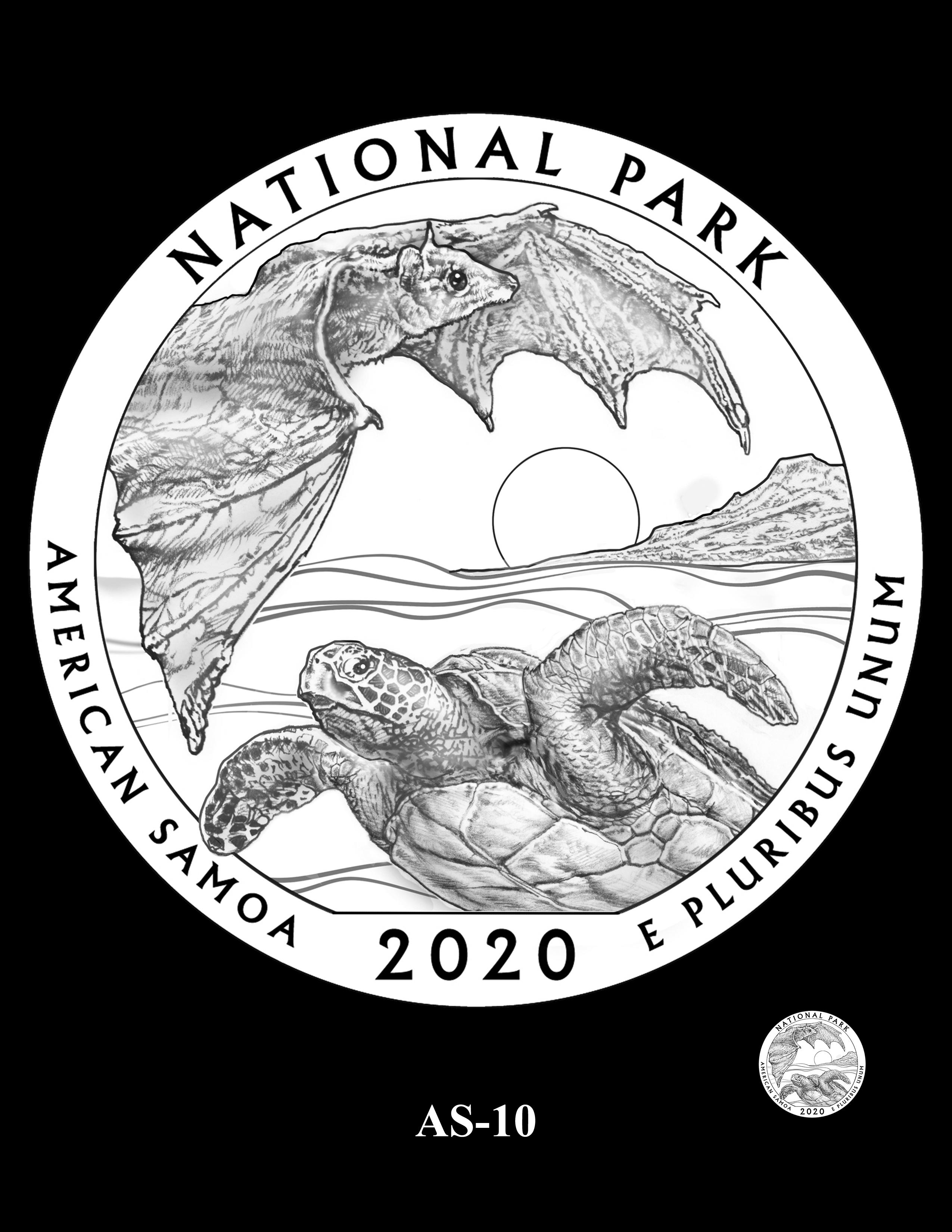 AS-10 -- 2020 America the Beautiful Quarters® Program