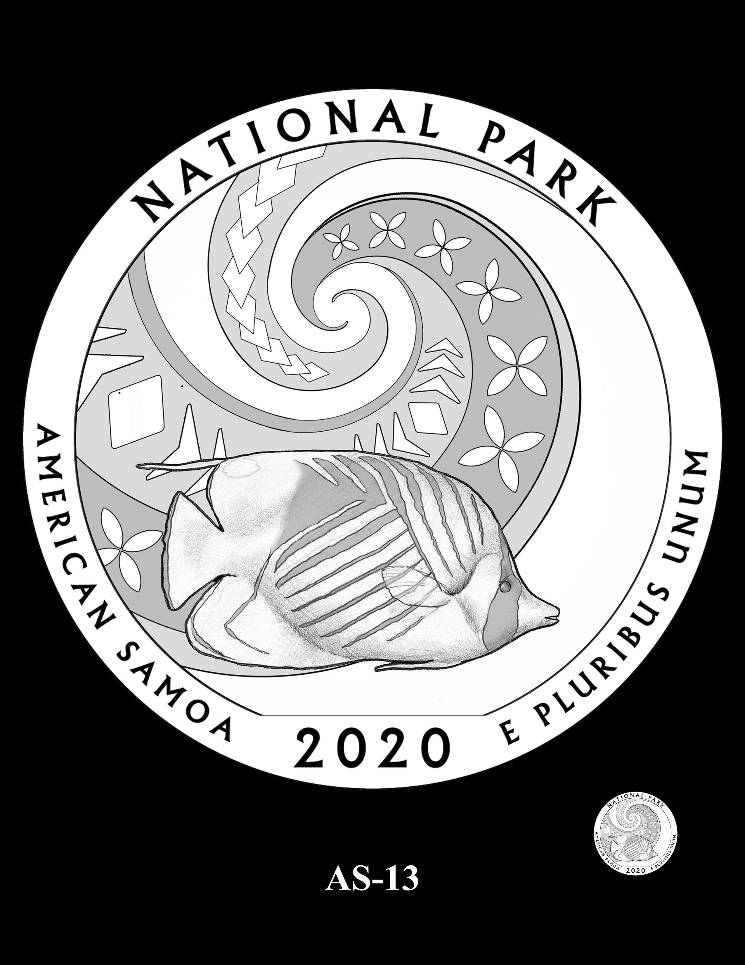 AS-13 -- 2020 America the Beautiful Quarters® Program