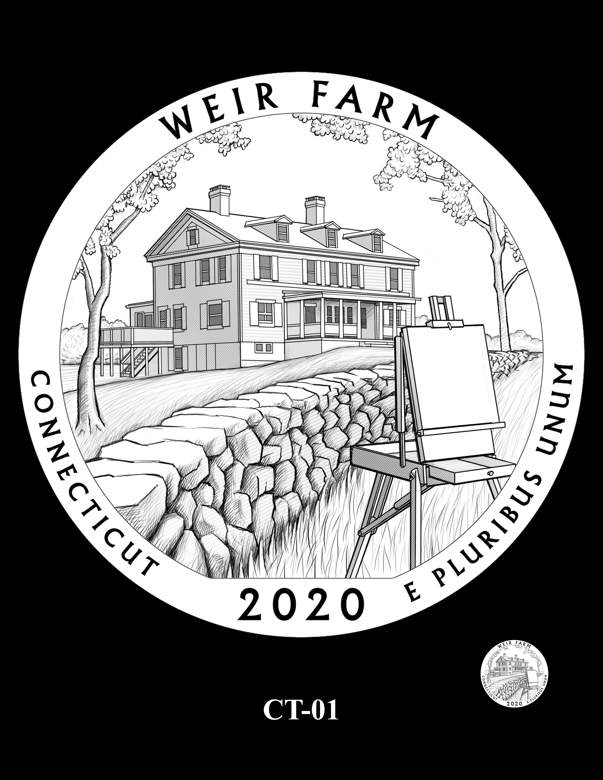 CT-01 -- 2020 America the Beautiful Quarters® Program