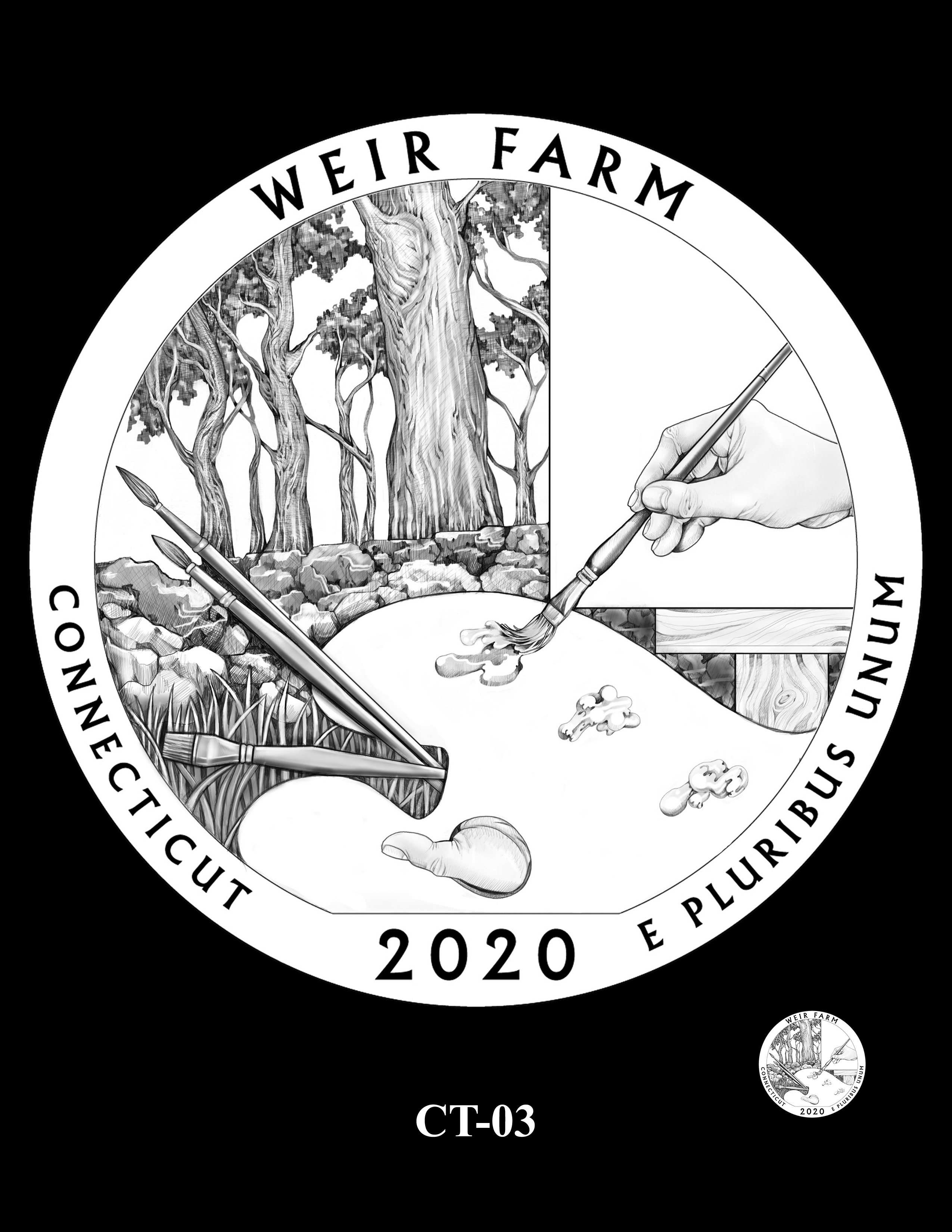 CT-03 -- 2020 America the Beautiful Quarters® Program