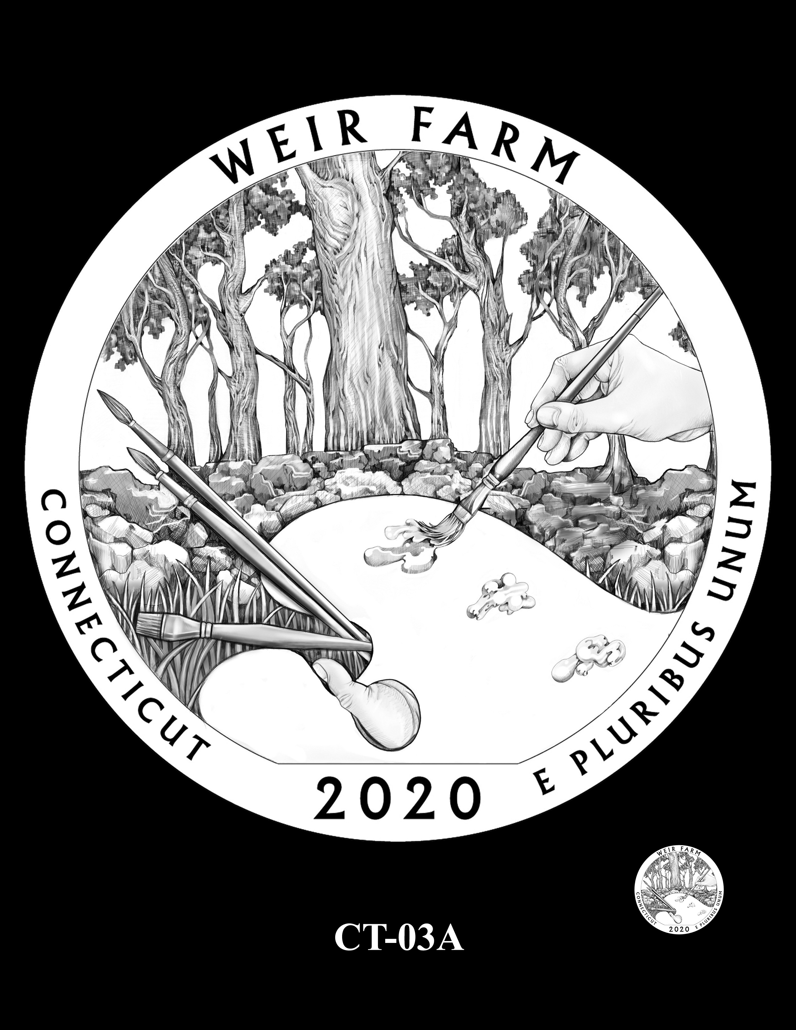 CT-03A -- 2020 America the Beautiful Quarters® Program