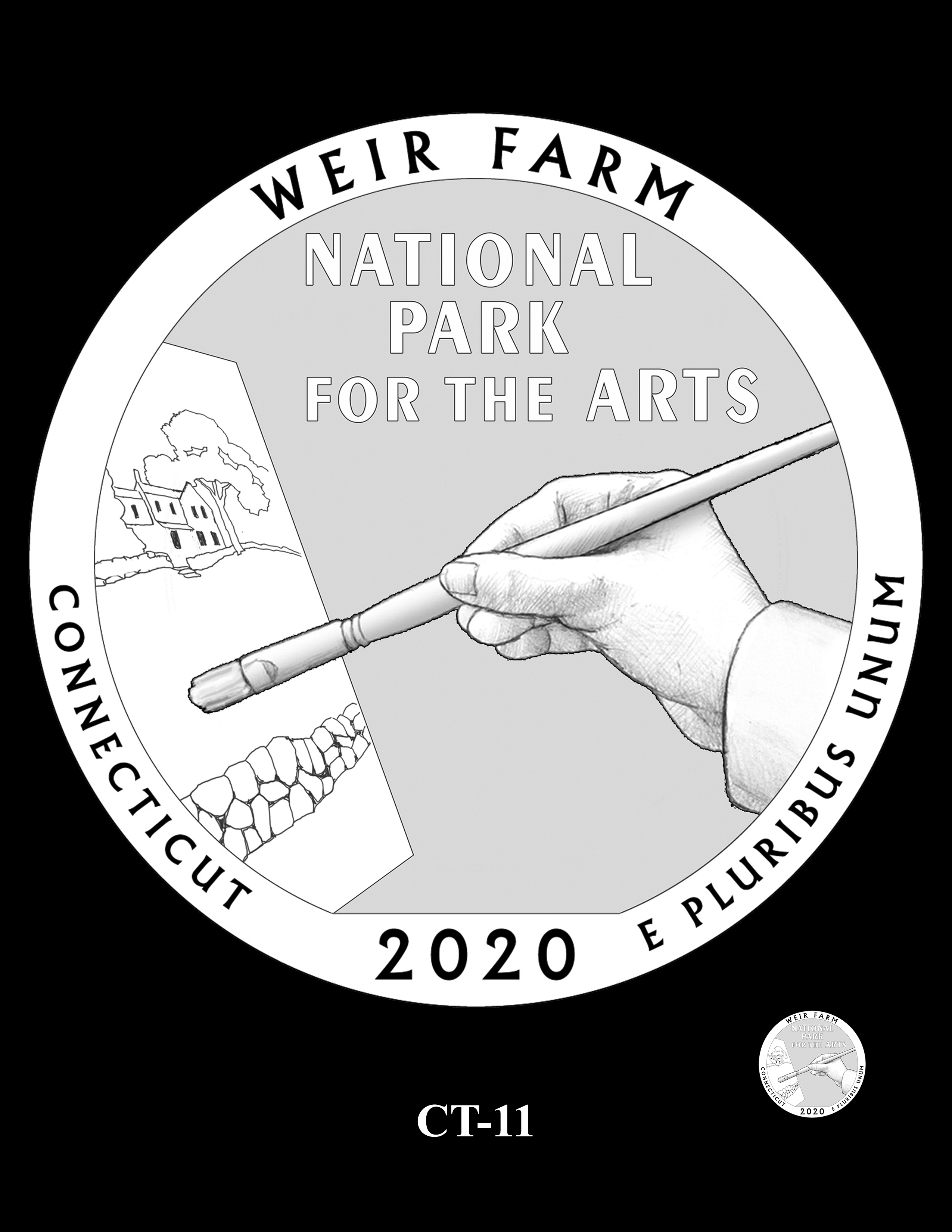 CT-11 -- 2020 America the Beautiful Quarters® Program