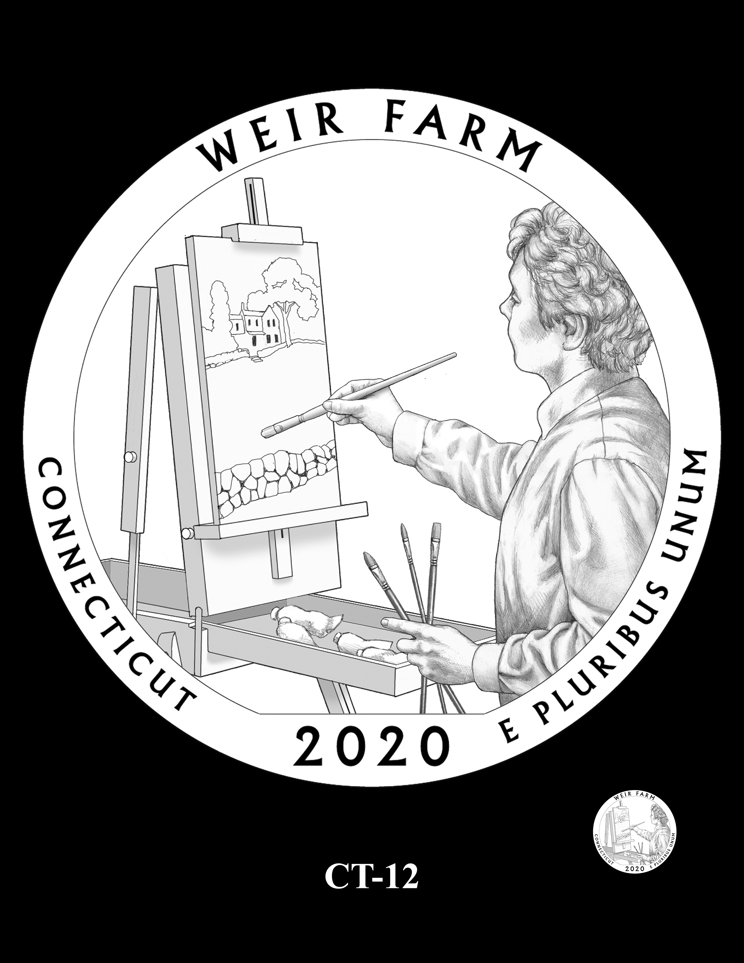 CT-12 -- 2020 America the Beautiful Quarters® Program