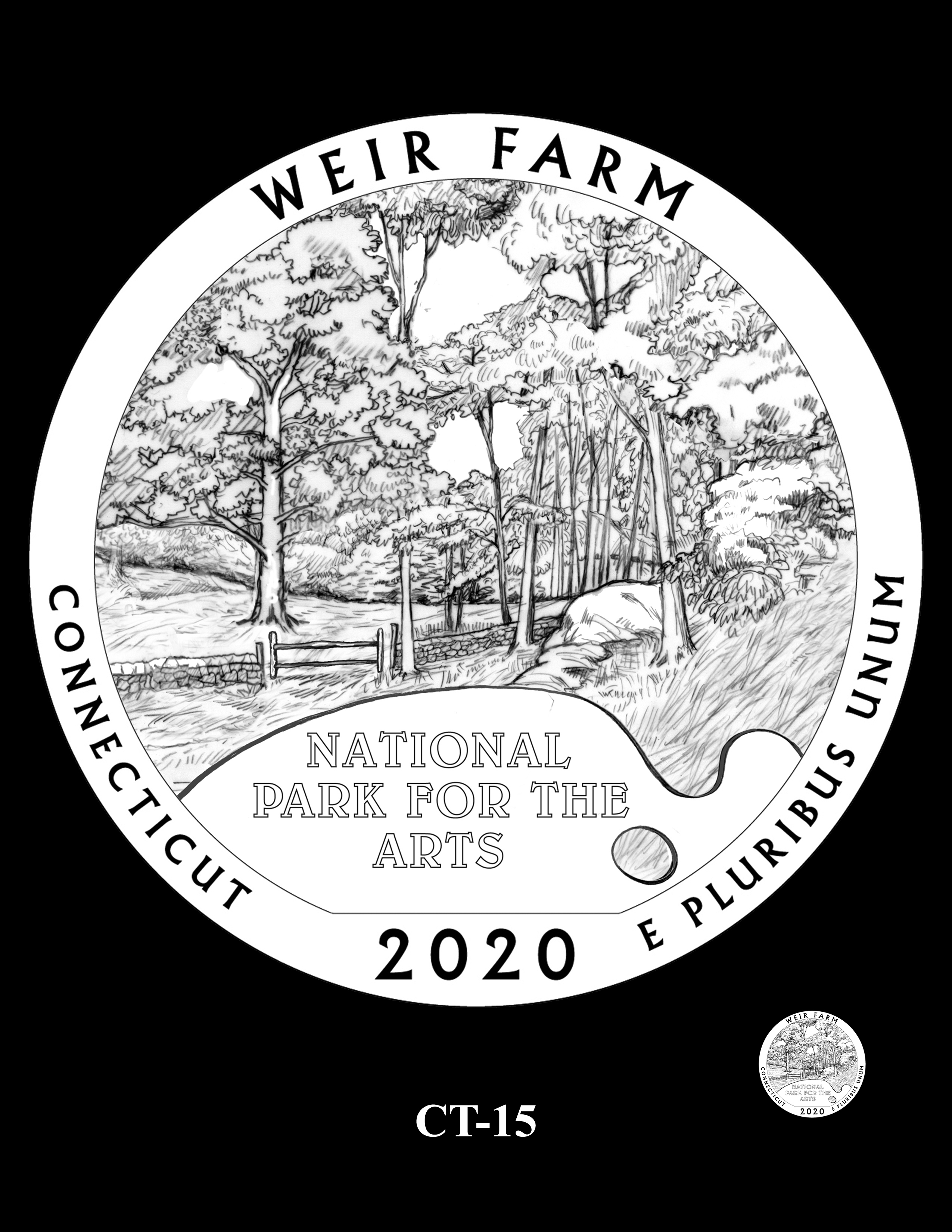 CT-15 -- 2020 America the Beautiful Quarters® Program