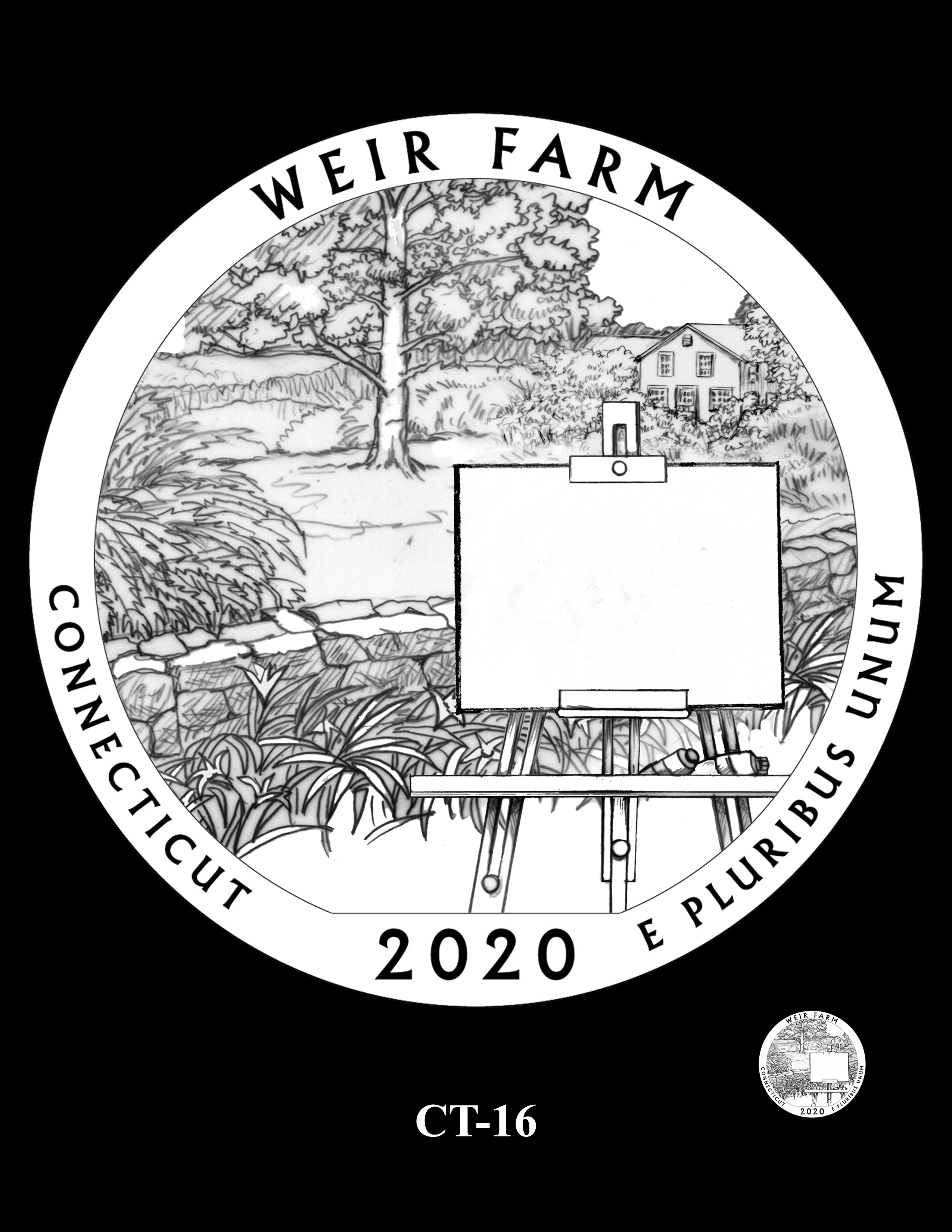 CT-16 -- 2020 America the Beautiful Quarters® Program