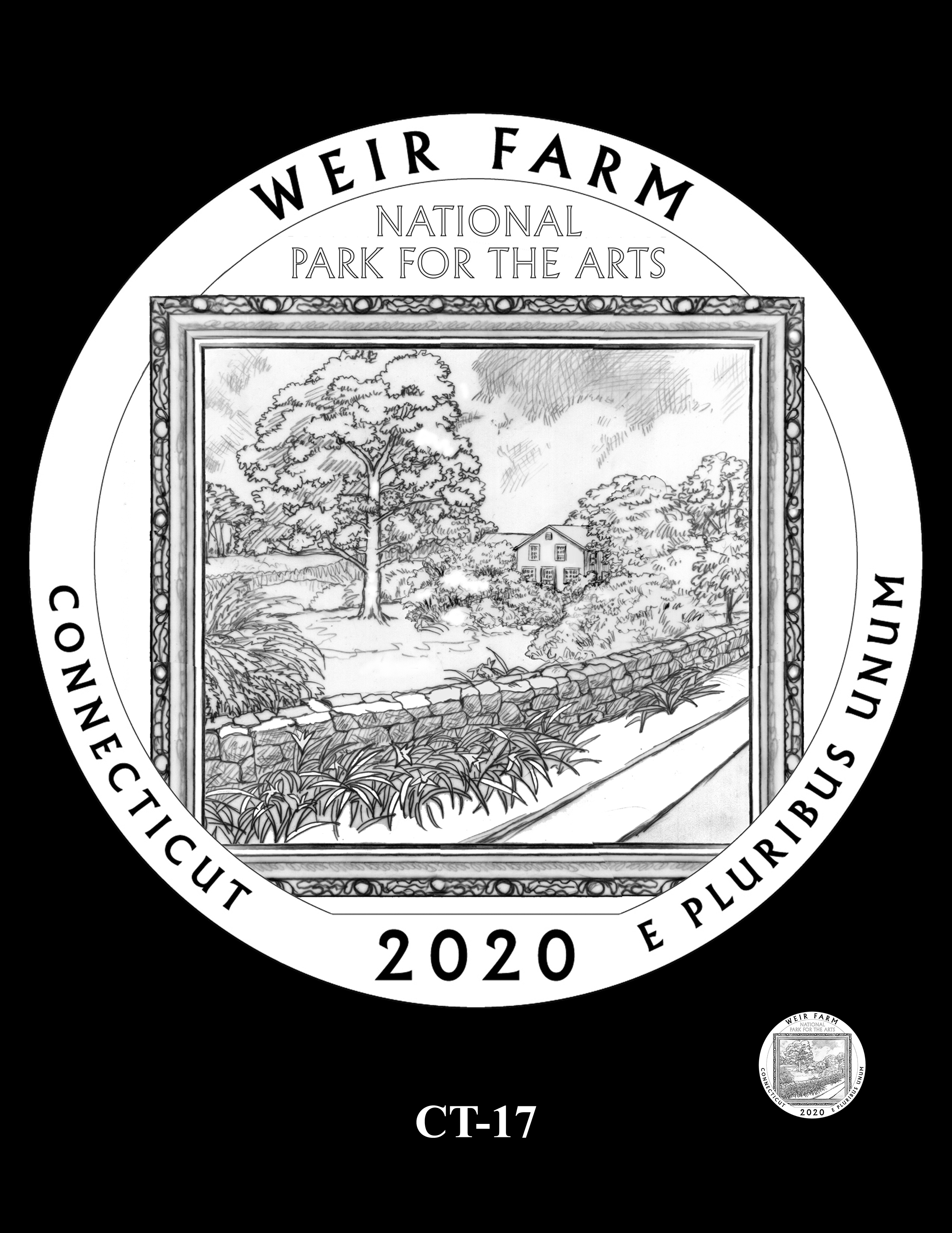 CT-17 -- 2020 America the Beautiful Quarters® Program