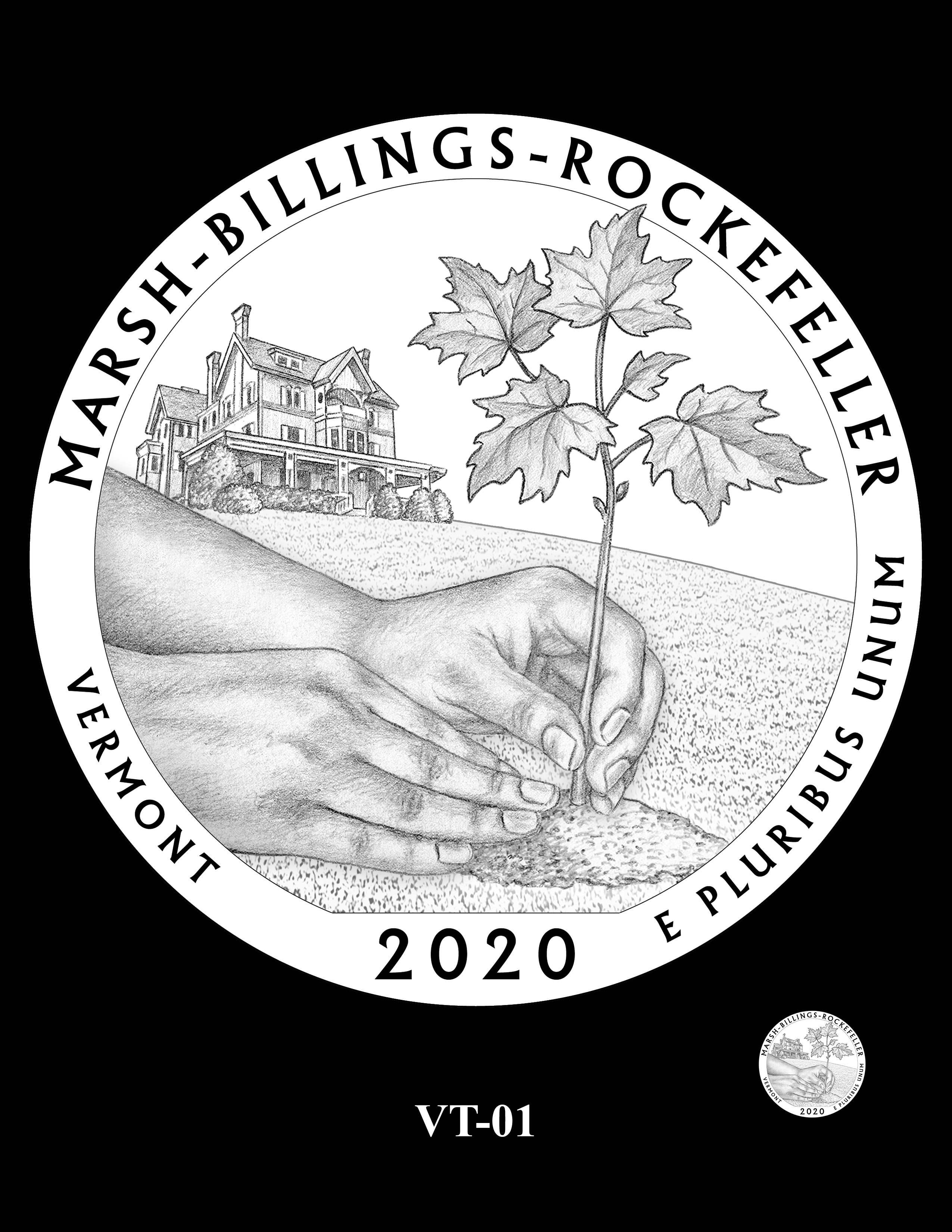 VT-01 -- 2020 America the Beautiful Quarters® Program
