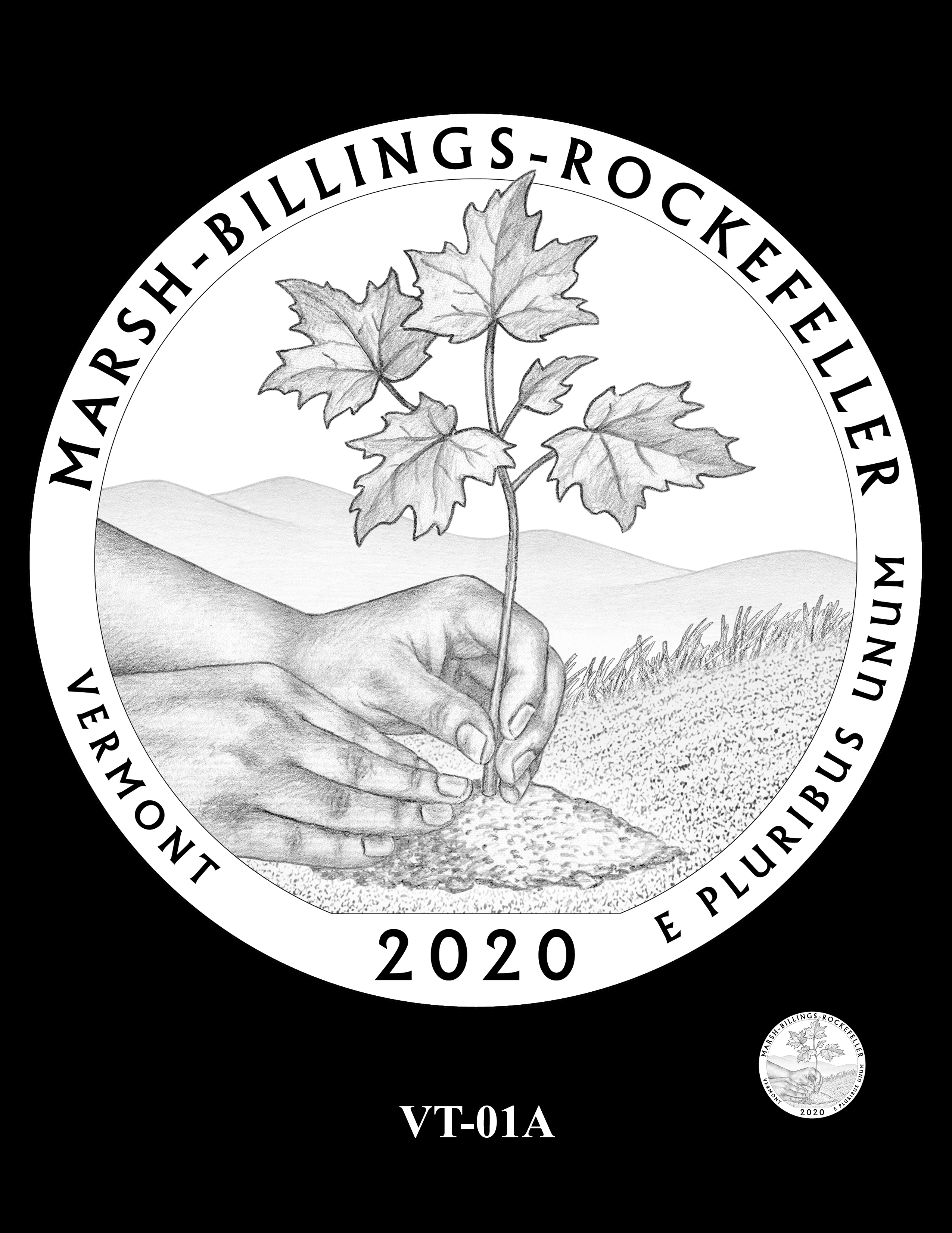 VT-01A -- 2020 America the Beautiful Quarters® Program
