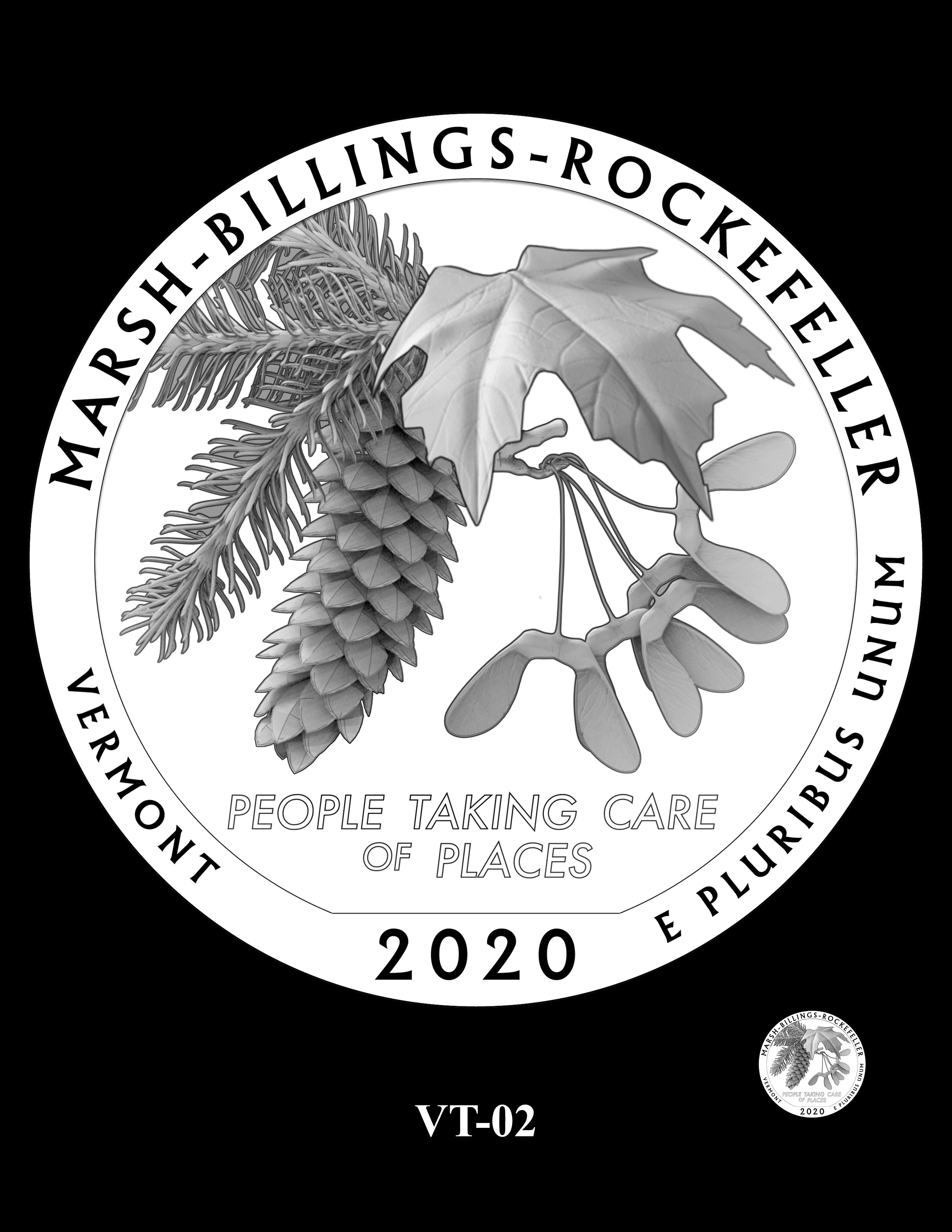 VT-02 -- 2020 America the Beautiful Quarters® Program
