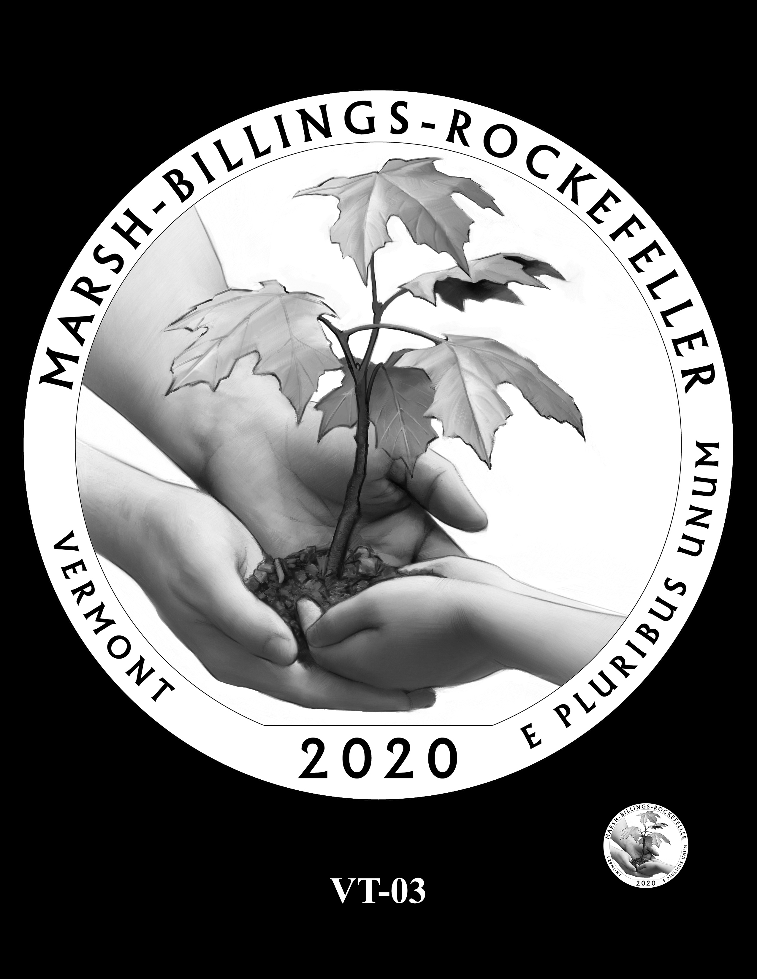 VT-03 -- 2020 America the Beautiful Quarters® Program