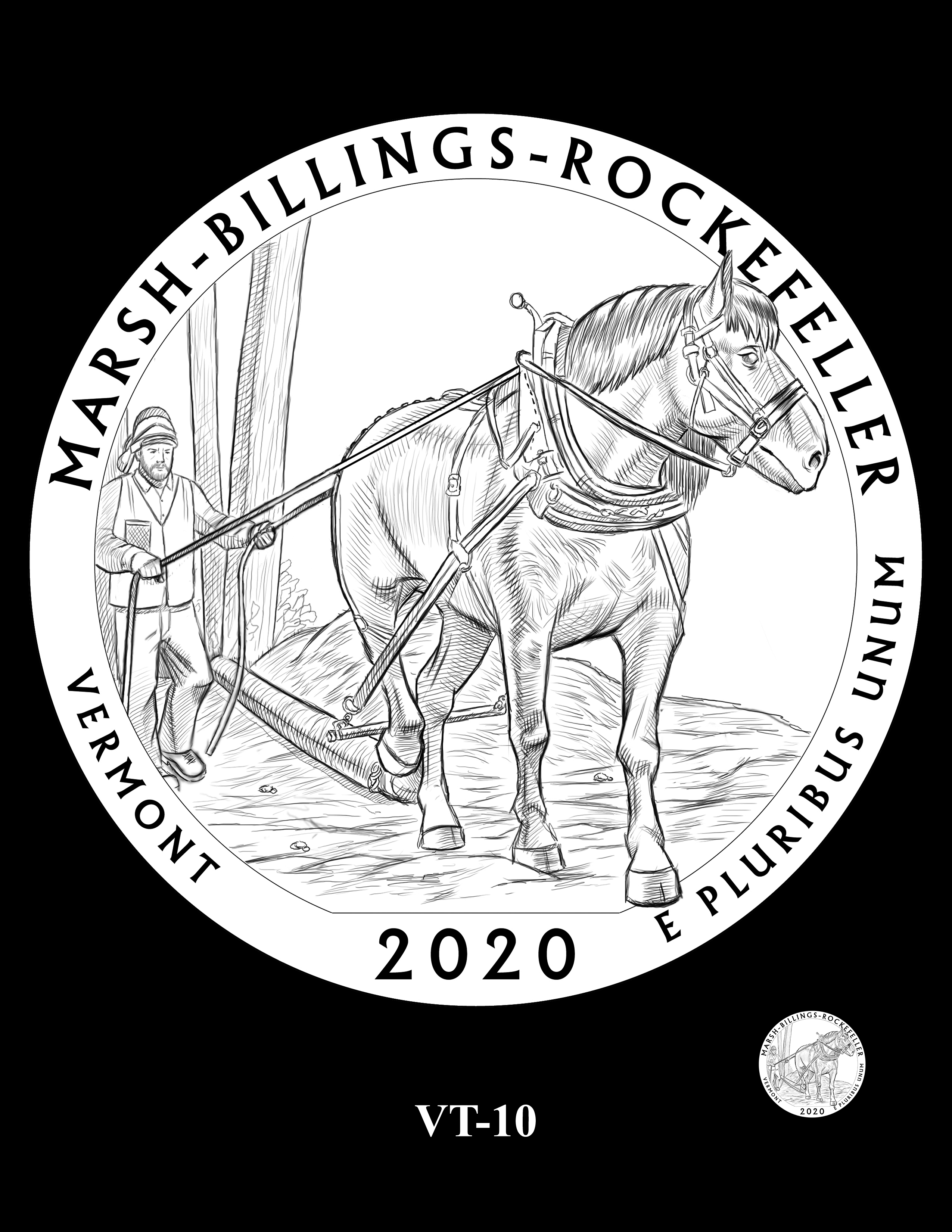 VT-10 -- 2020 America the Beautiful Quarters® Program