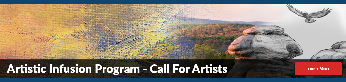 artistic infusion program - call for artists - learn more - photograph becoming hand drawn line art