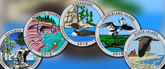 kids coloring pages - 2018 america the beautiful quarters