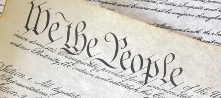 u.s. constitution - we the people