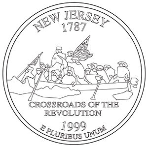 new jersey 50 state quarter obverse