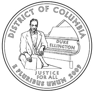 district of columbia quarter obverse