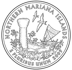 northern mariana islands quarter obverse