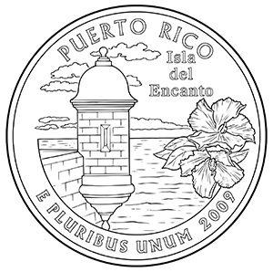 puerto rico quarter obverse
