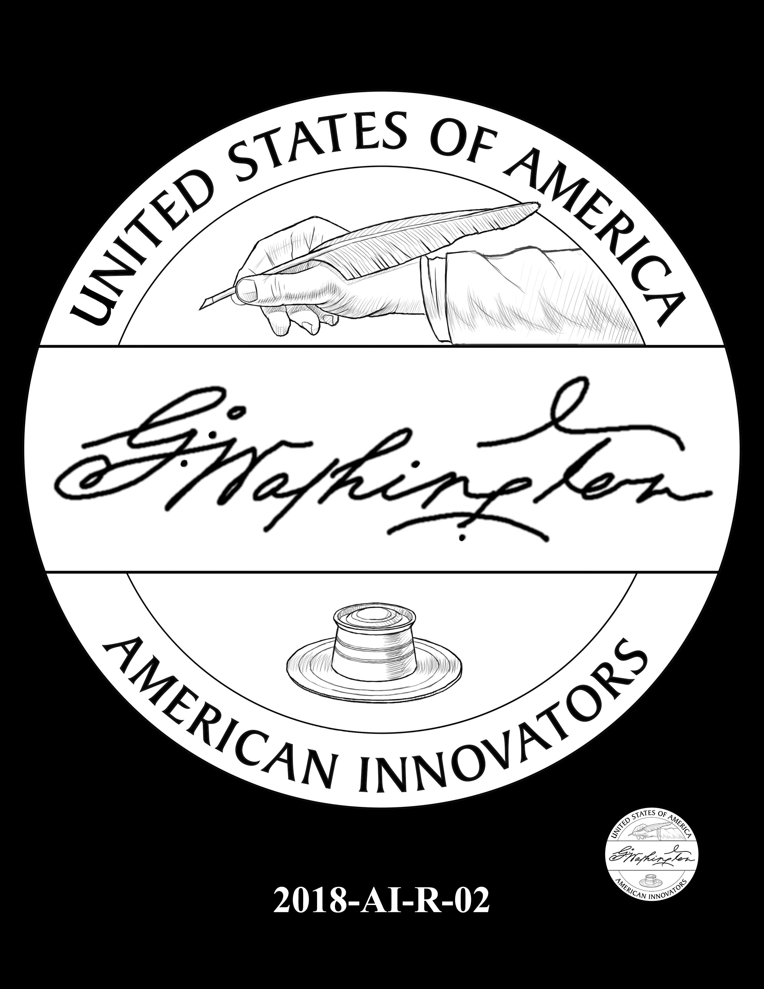 2018-AI-R-02 -- 2018 American Innovation $1 Coin