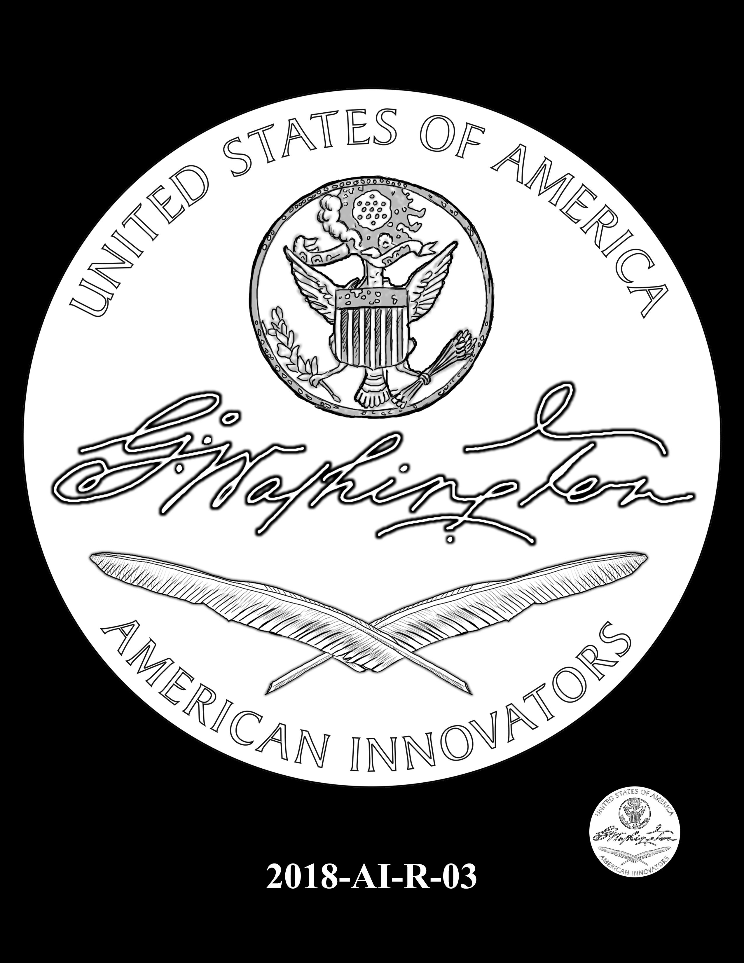 2018-AI-R-03 -- 2018 American Innovation $1 Coin