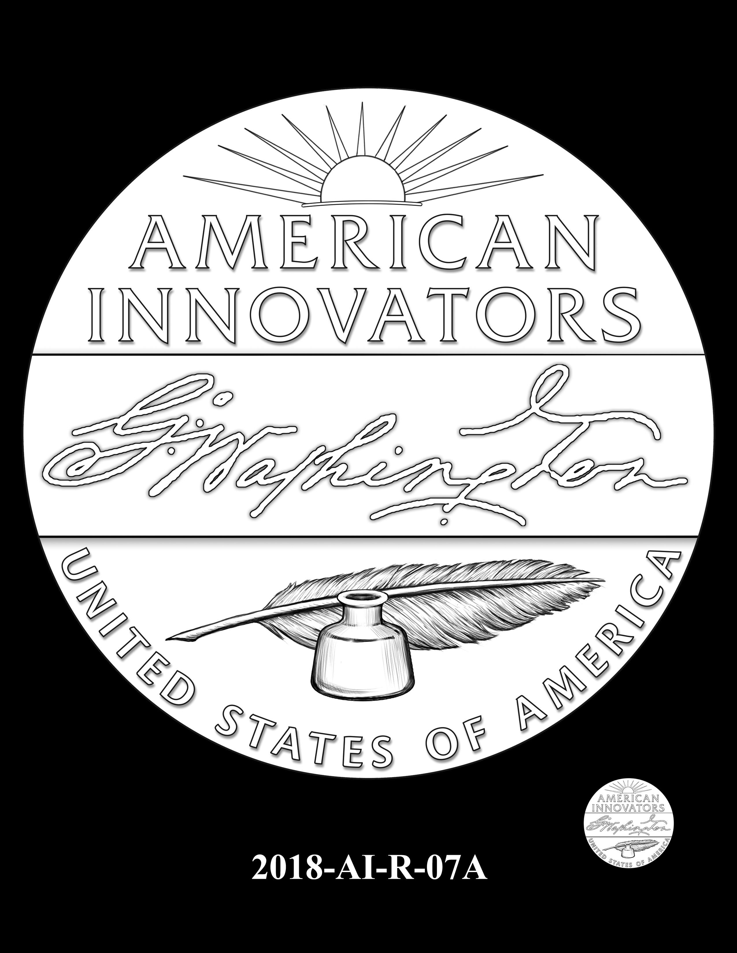2018-AI-R-07A -- 2018 American Innovation $1 Coin