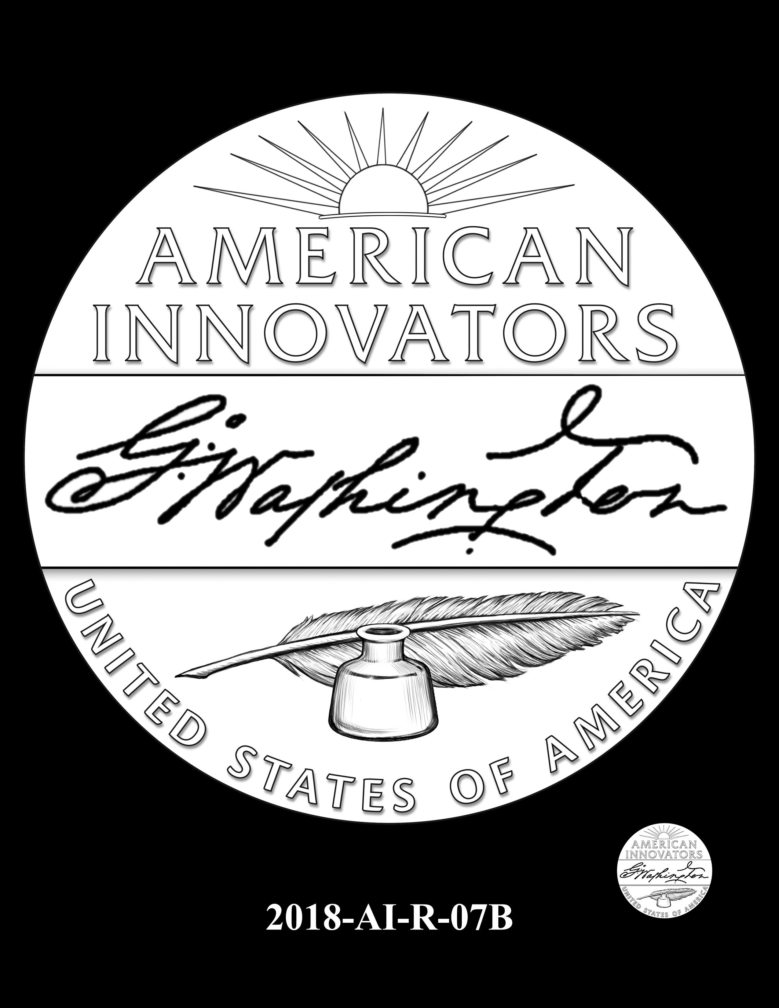 2018-AI-R-07B -- 2018 American Innovation $1 Coin