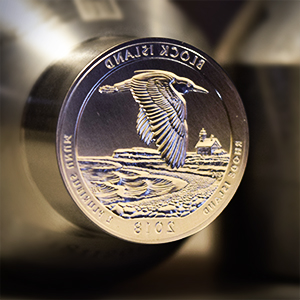 2018 america the beautiful block island national wildlife refuge quarter machine die