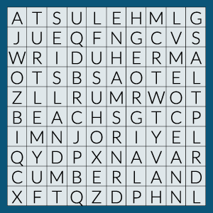 cumberland island word search