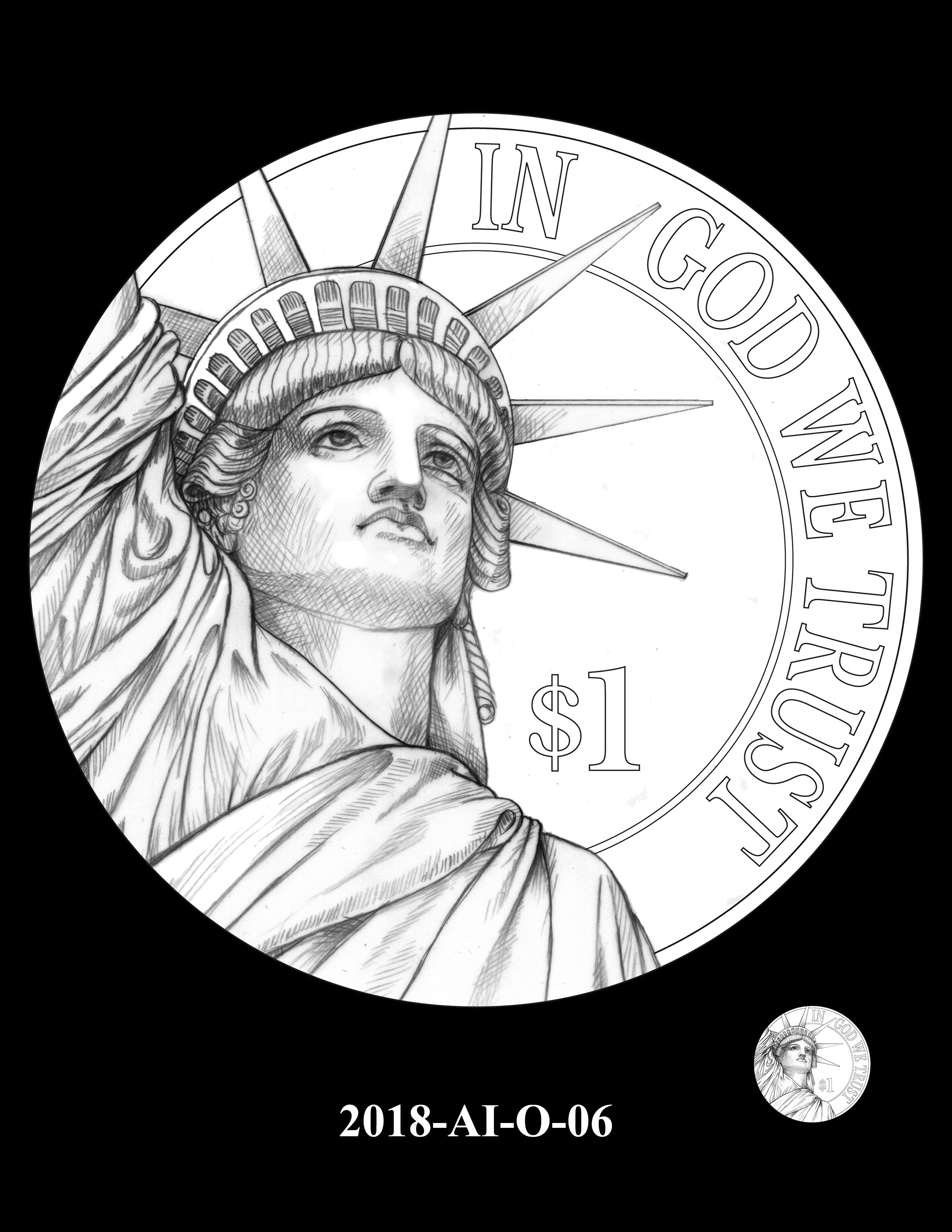 2018-AI-O-06 -- 2018 American Innovation $1 Coin
