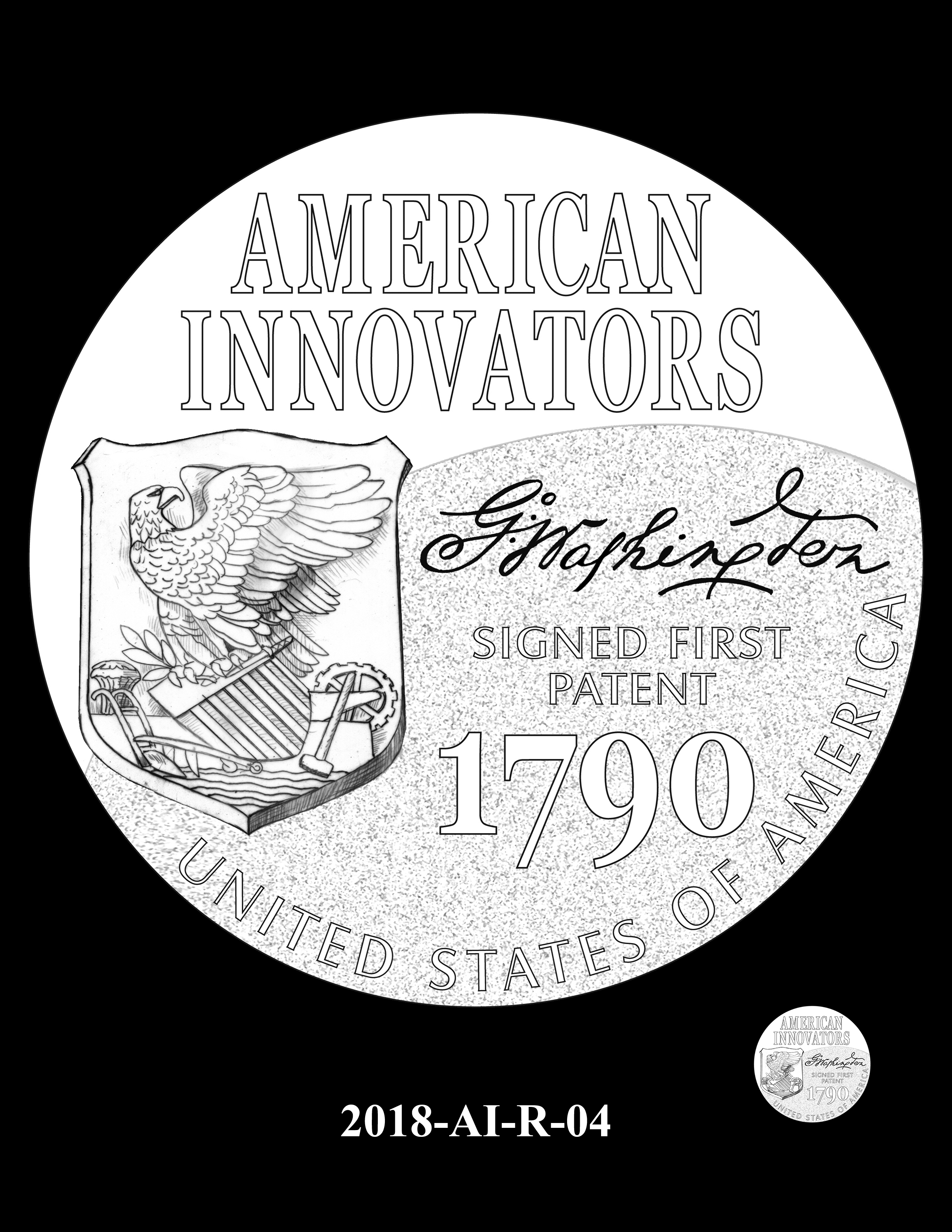 2018-AI-R-04 -- 2018 American Innovation $1 Coin