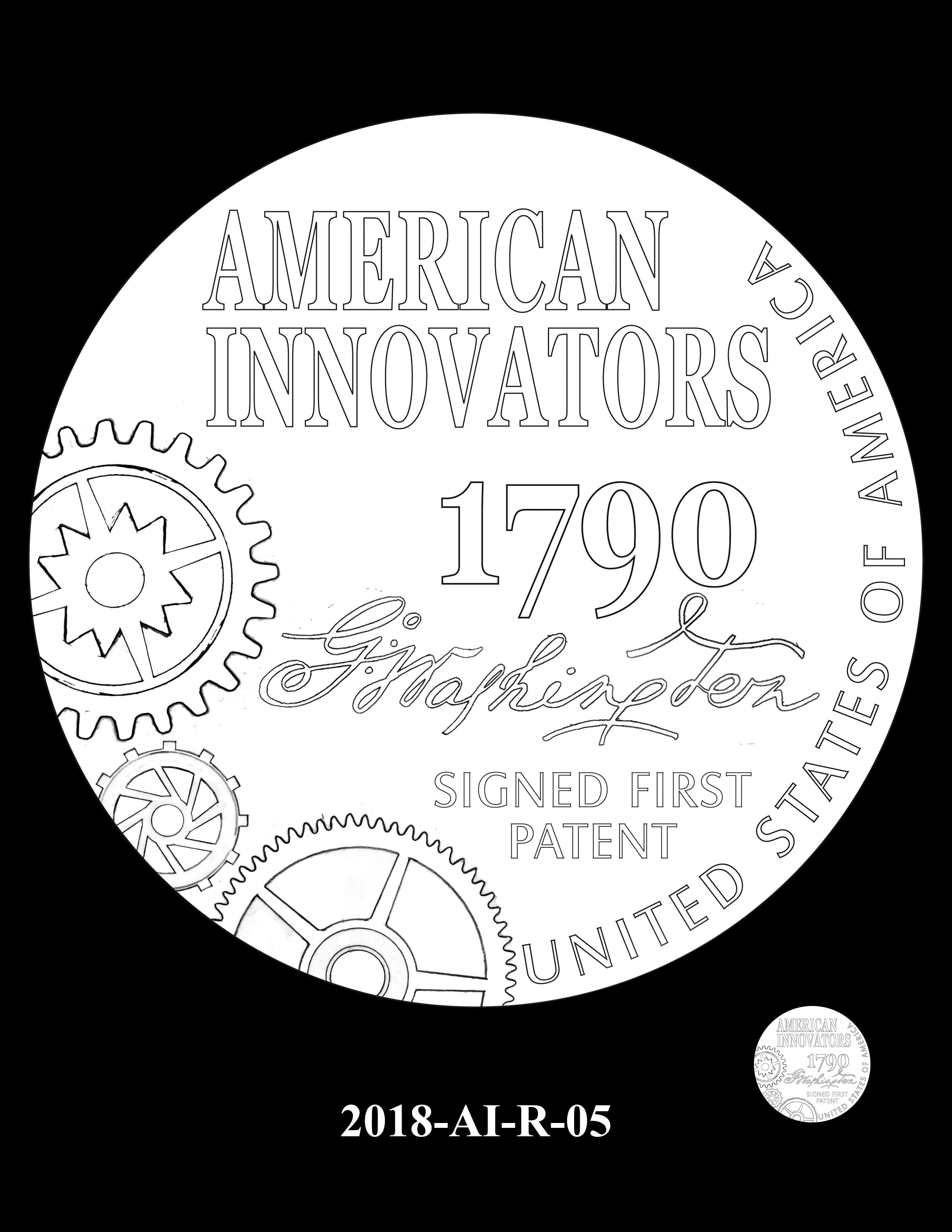 2018-AI-R-05 -- 2018 American Innovation $1 Coin