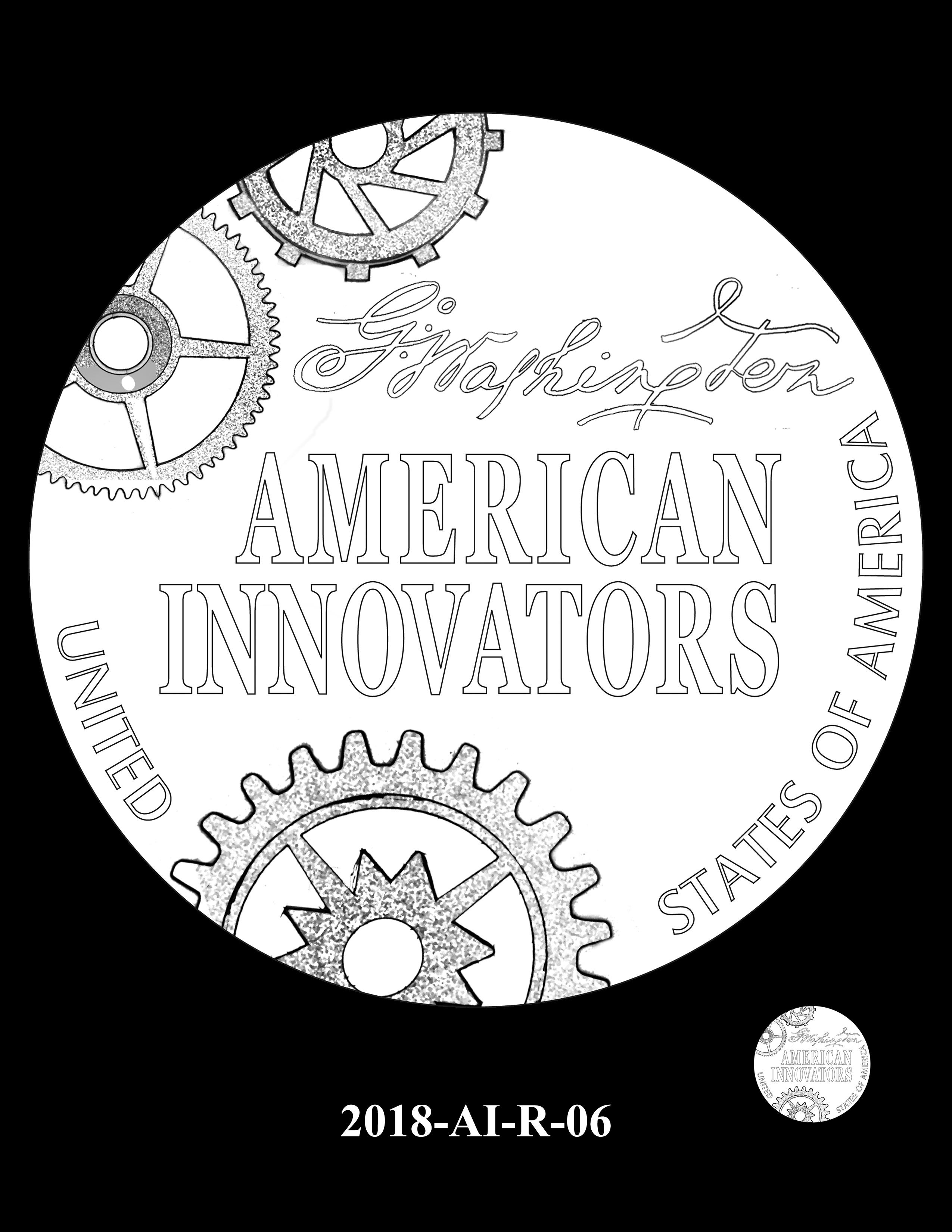 2018-AI-R-06 -- 2018 American Innovation $1 Coin