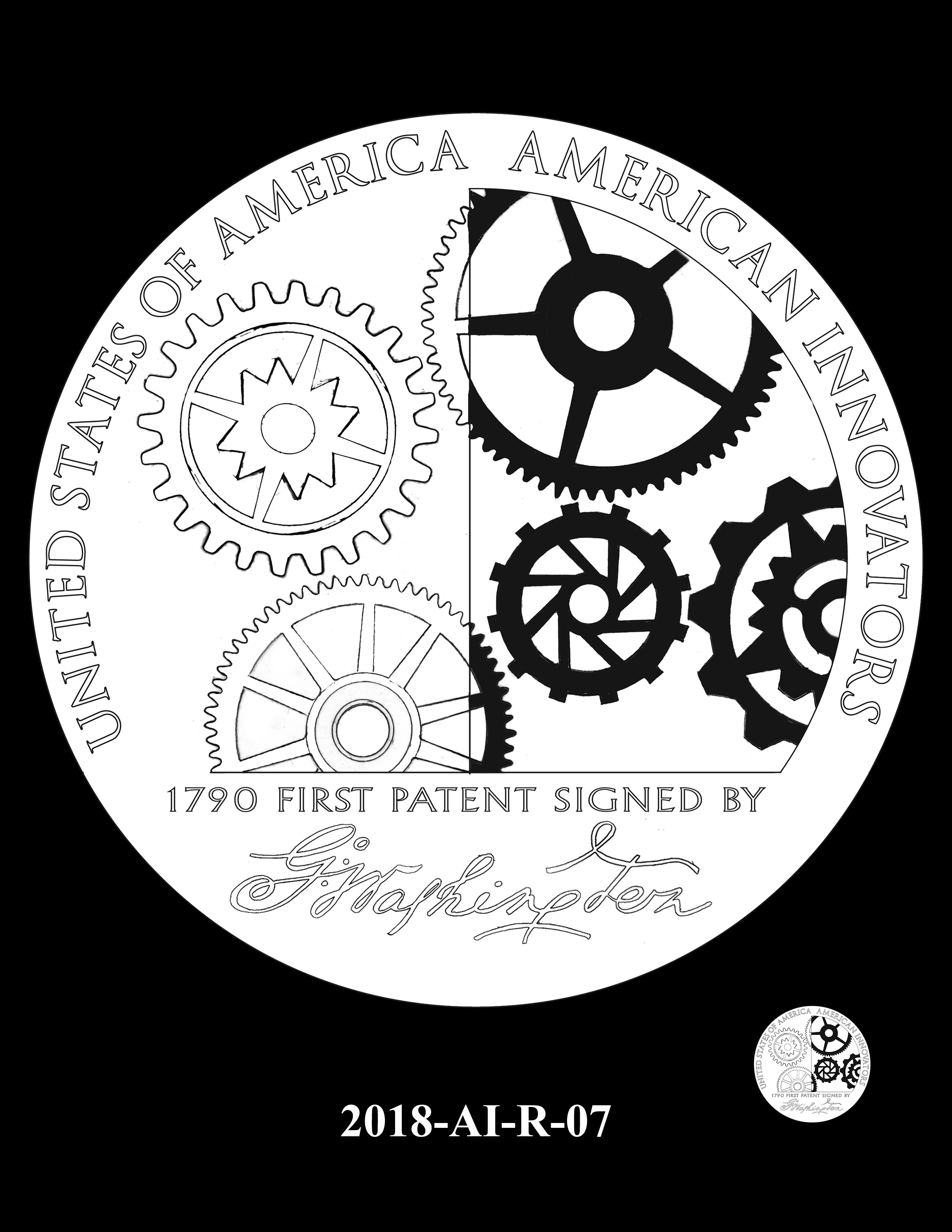 2018-AI-R-07 -- 2018 American Innovation $1 Coin