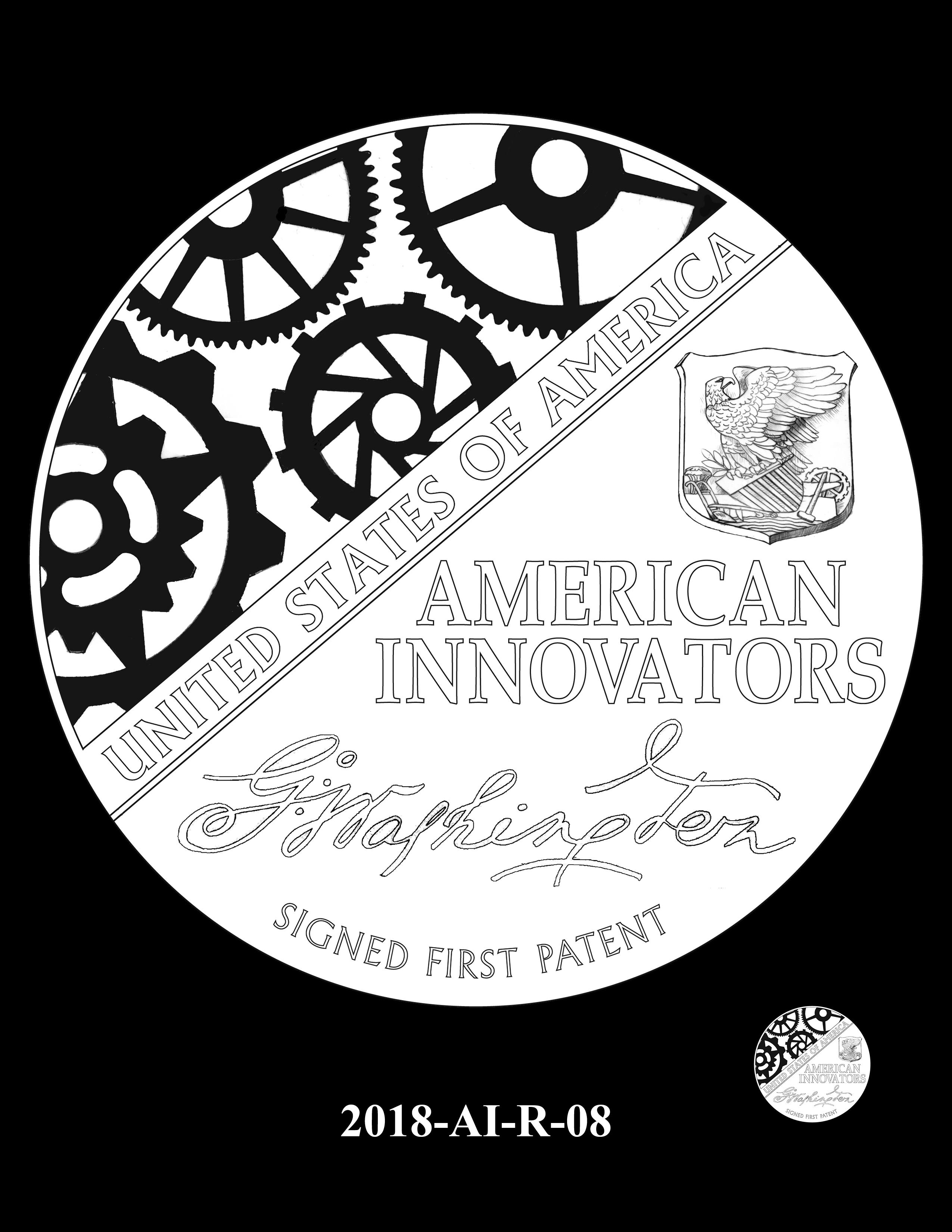 2018-AI-R-08 -- 2018 American Innovation $1 Coin