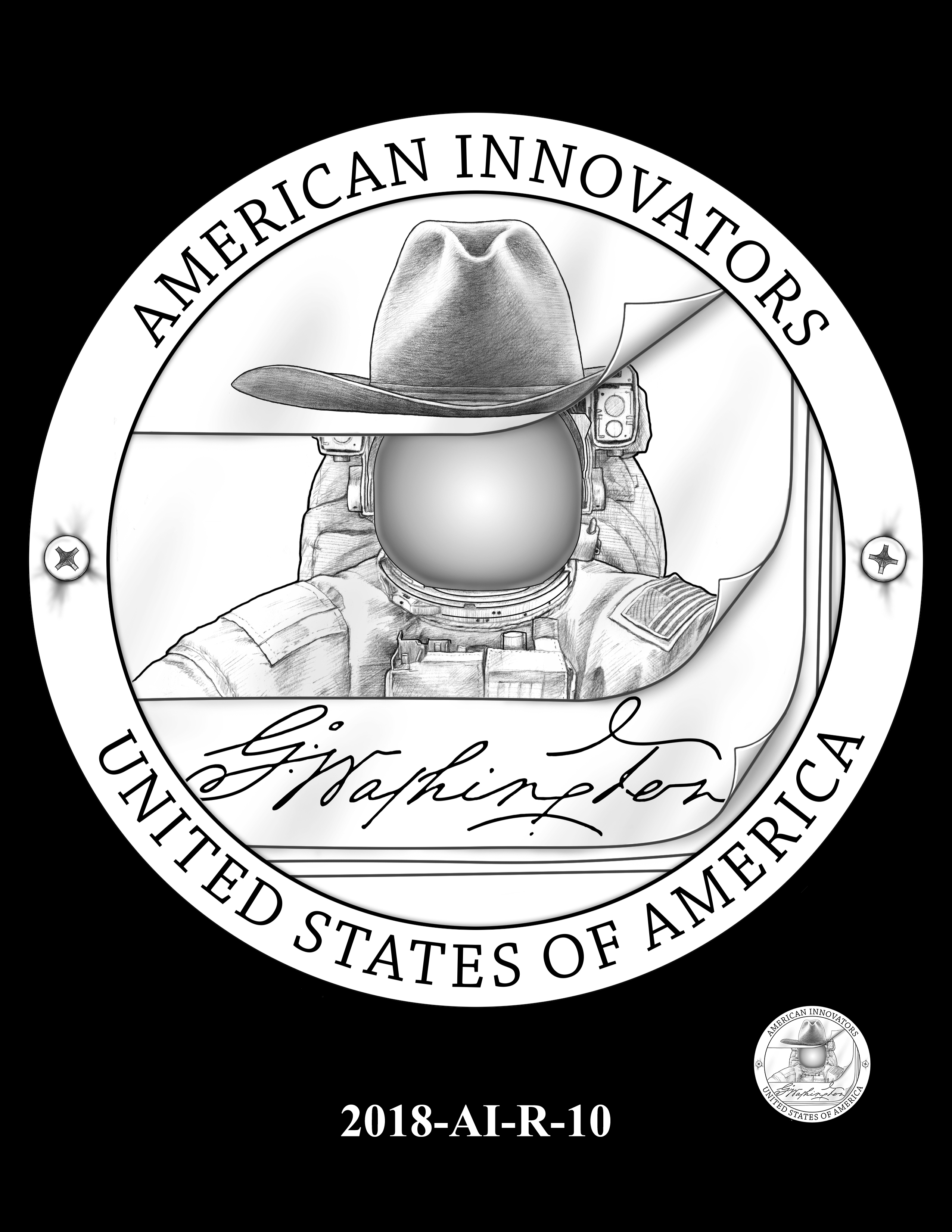 2018-AI-R-10 -- 2018 American Innovation $1 Coin