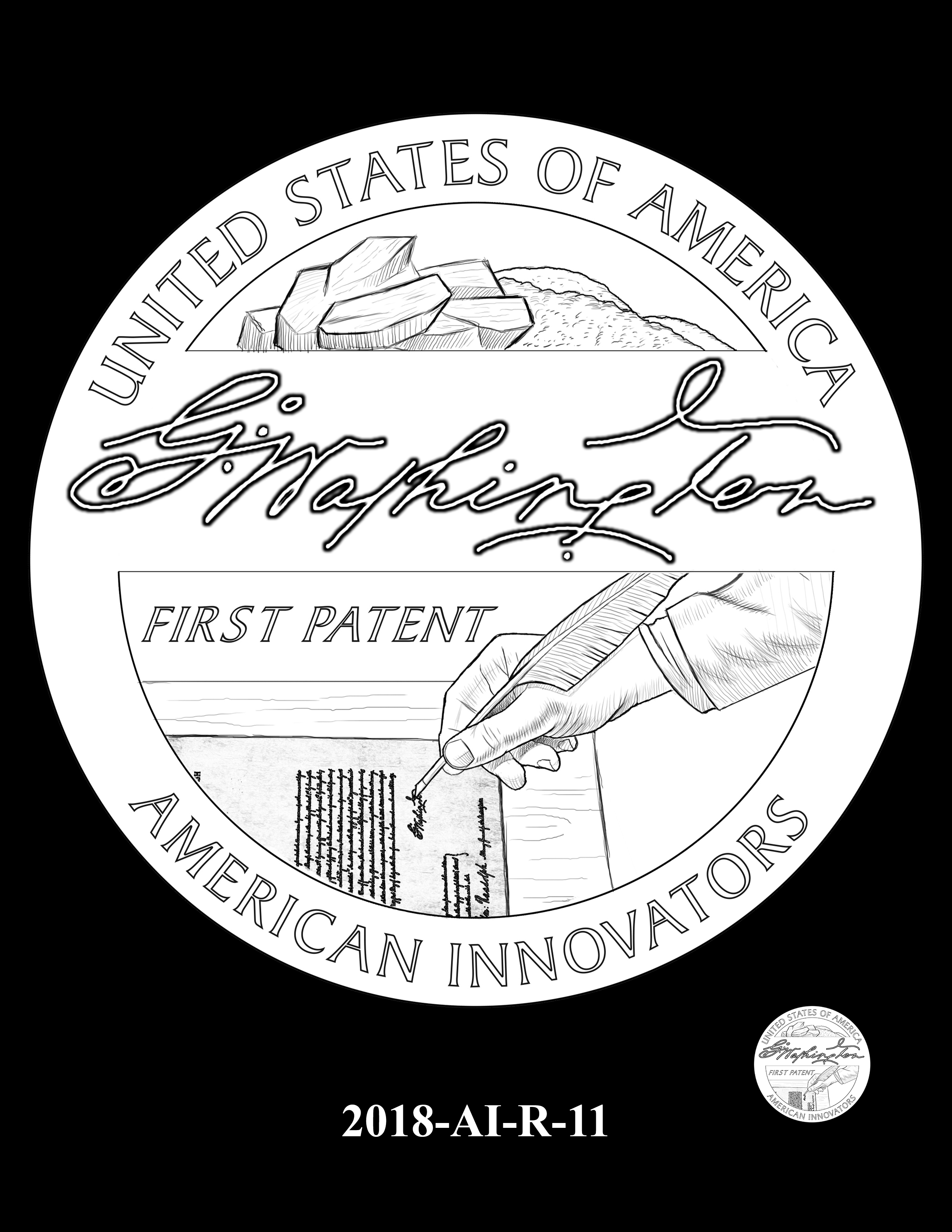 2018-AI-R-11 -- 2018 American Innovation $1 Coin