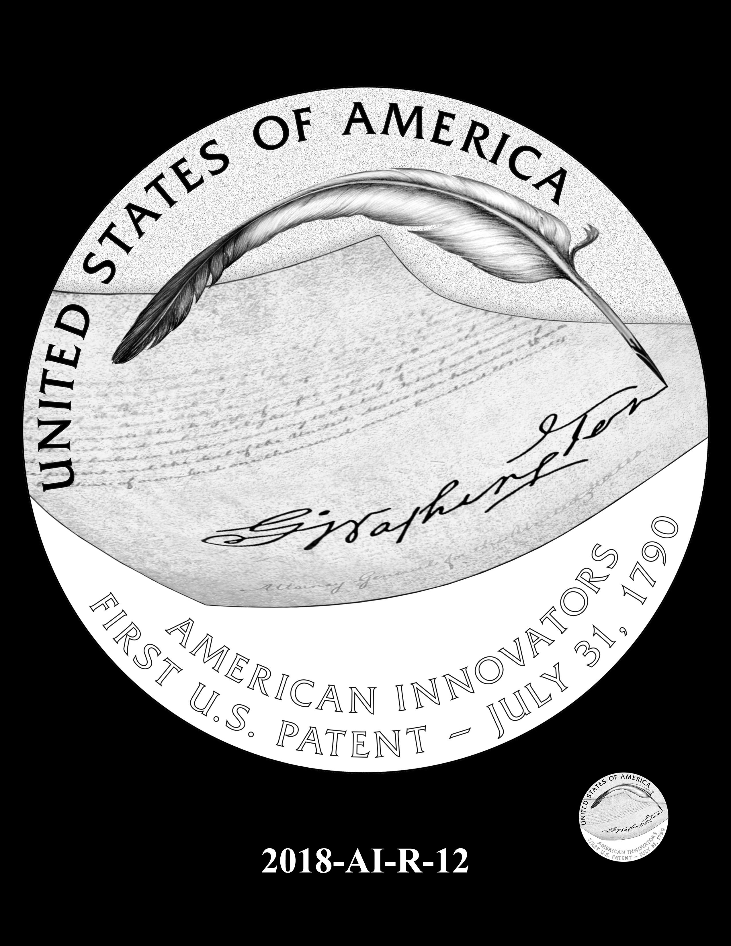 2018-AI-R-12 -- 2018 American Innovation $1 Coin