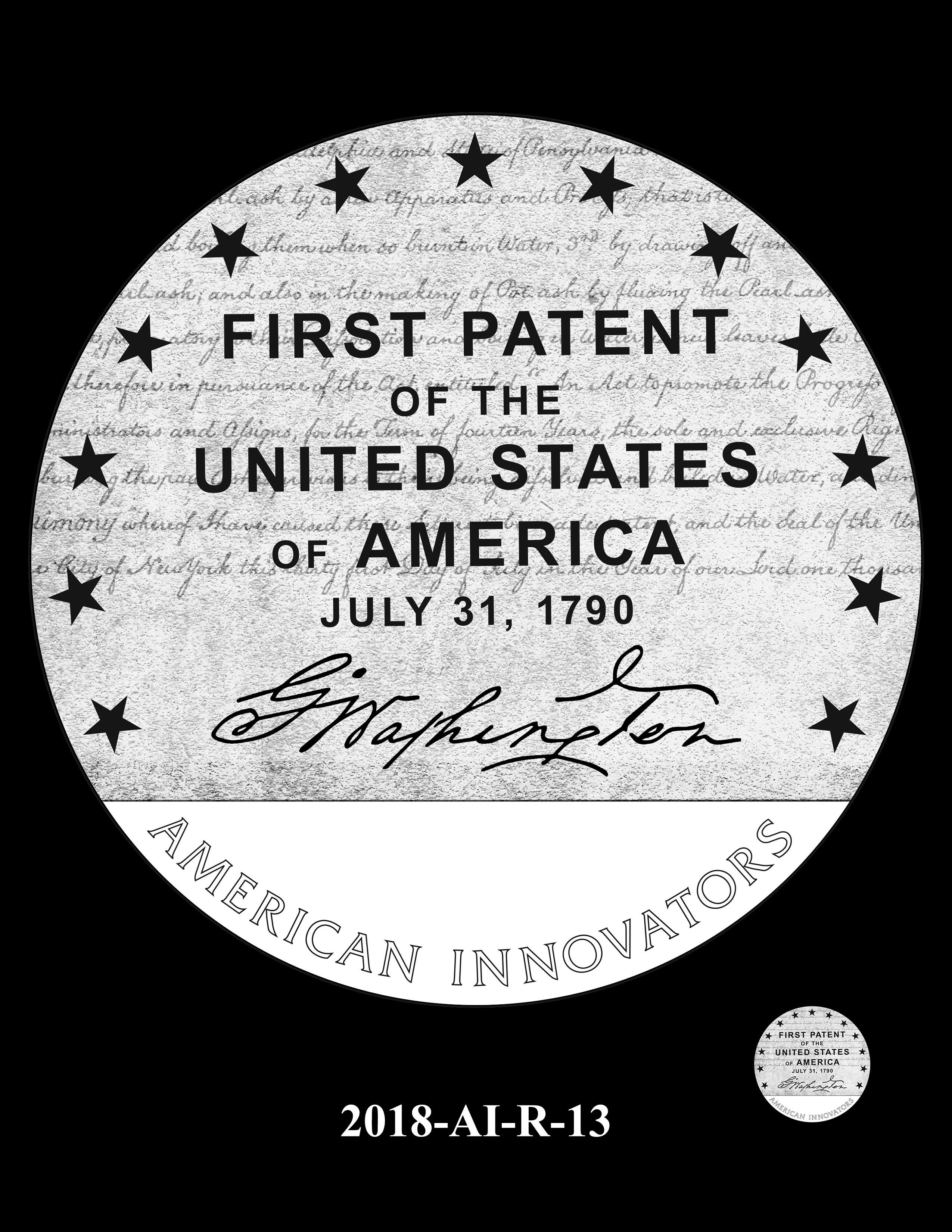 2018-AI-R-13 -- 2018 American Innovation $1 Coin
