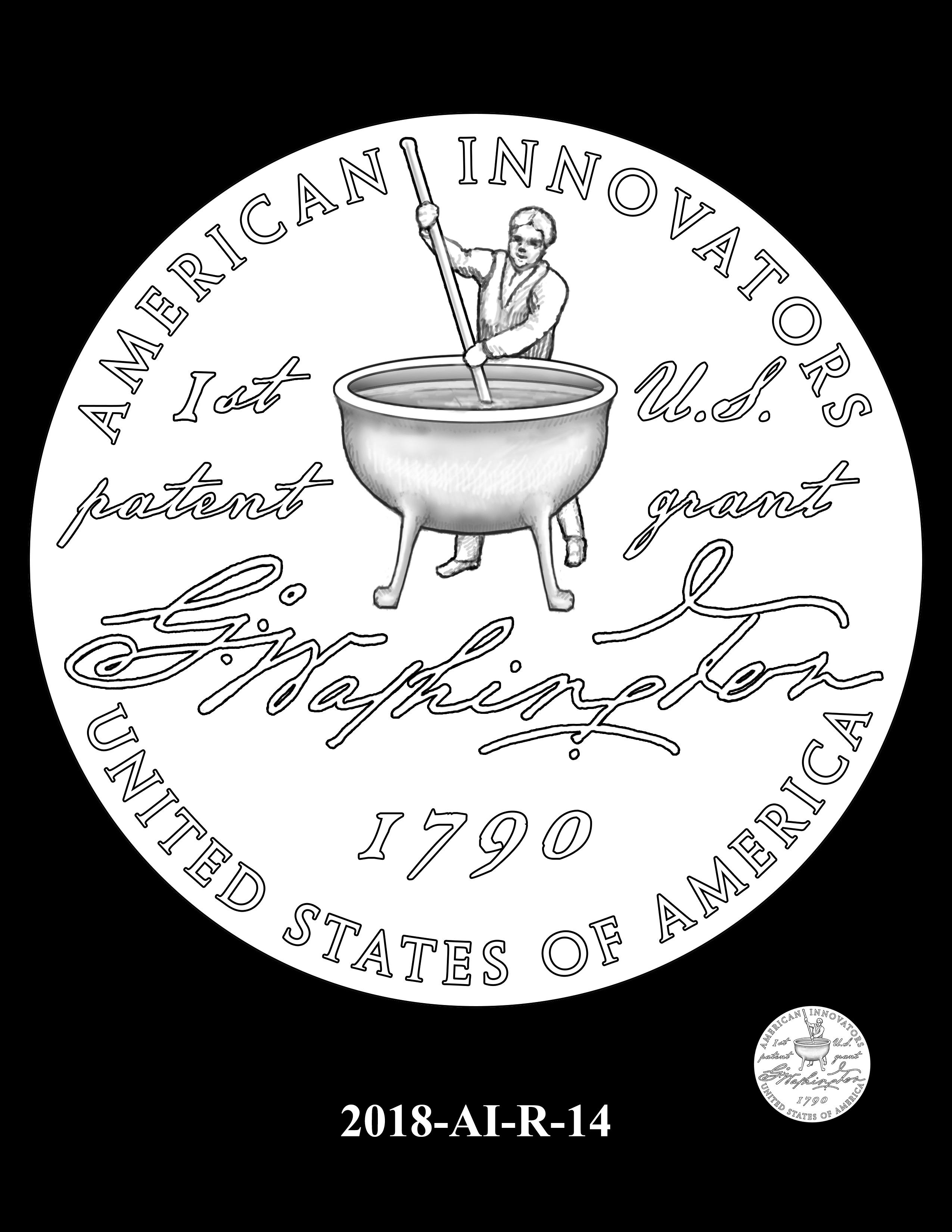 2018-AI-R-14 -- 2018 American Innovation $1 Coin