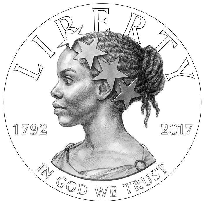 2017 American Liberty 225th Anniversary Obverse