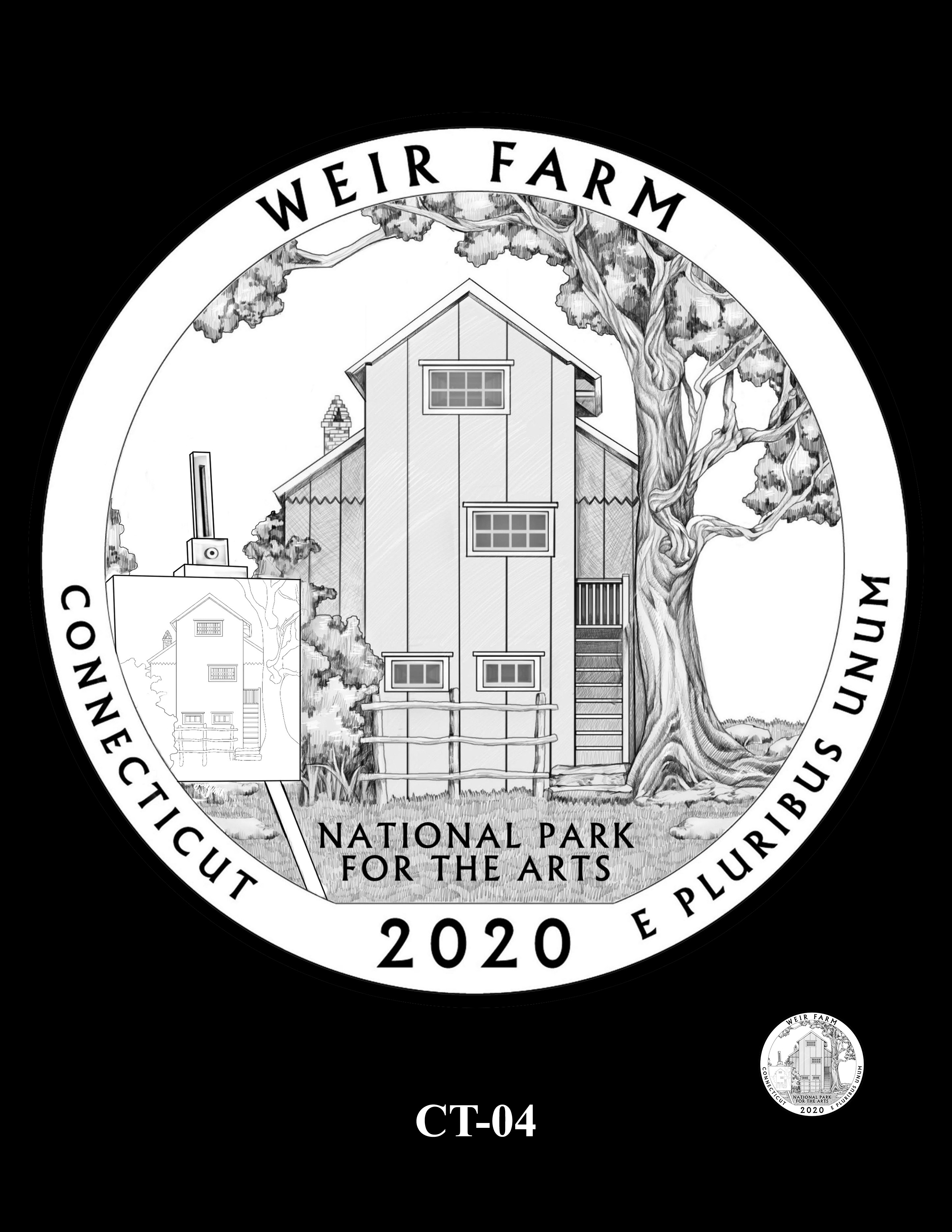CT-04 -- 2020 America the Beautiful Quarters® Program