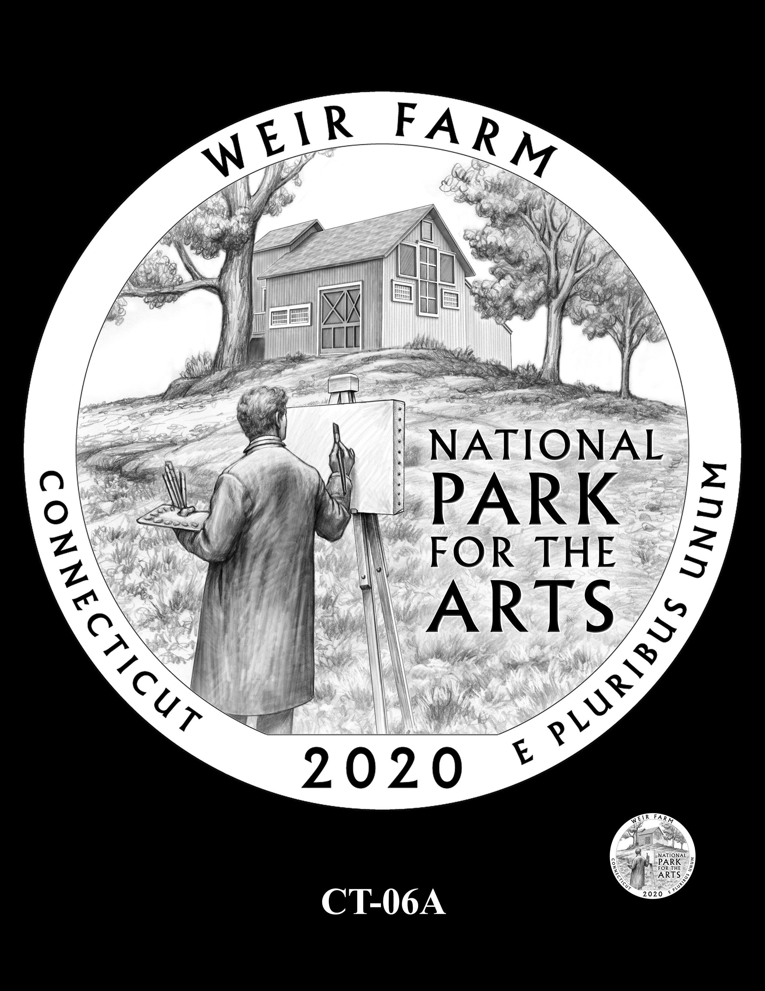 CT-06A -- 2020 America the Beautiful Quarters® Program