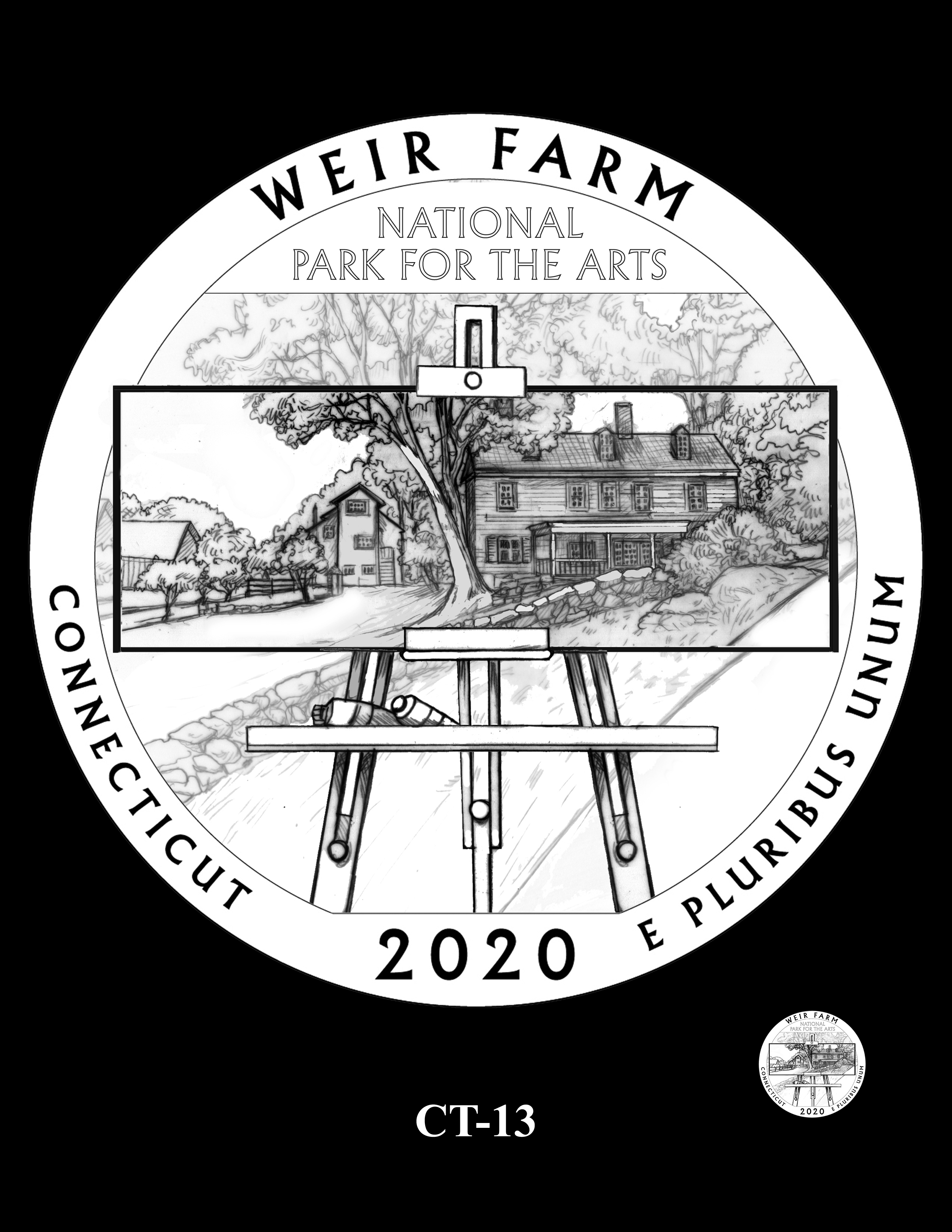 CT-13 -- 2020 America the Beautiful Quarters® Program