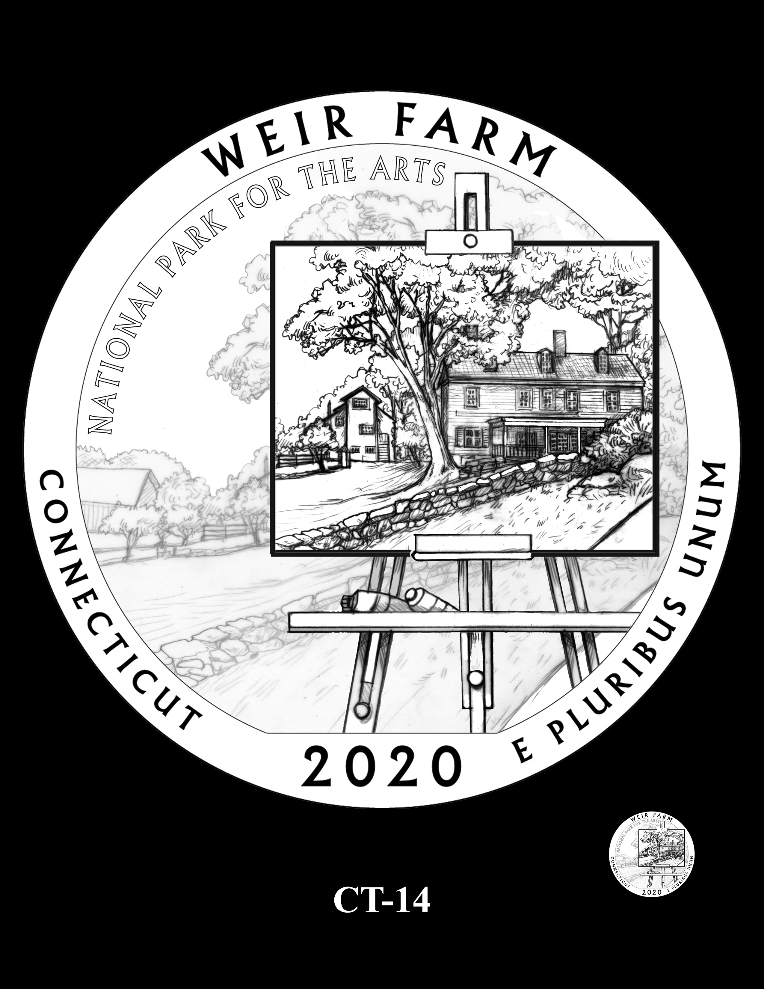 CT-14 -- 2020 America the Beautiful Quarters® Program