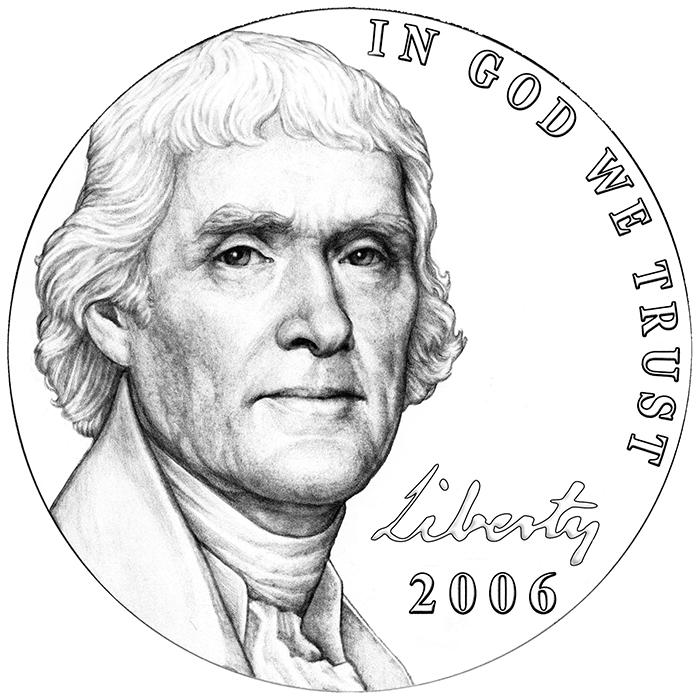 2006 Westward Journey Nickel Series Obverse