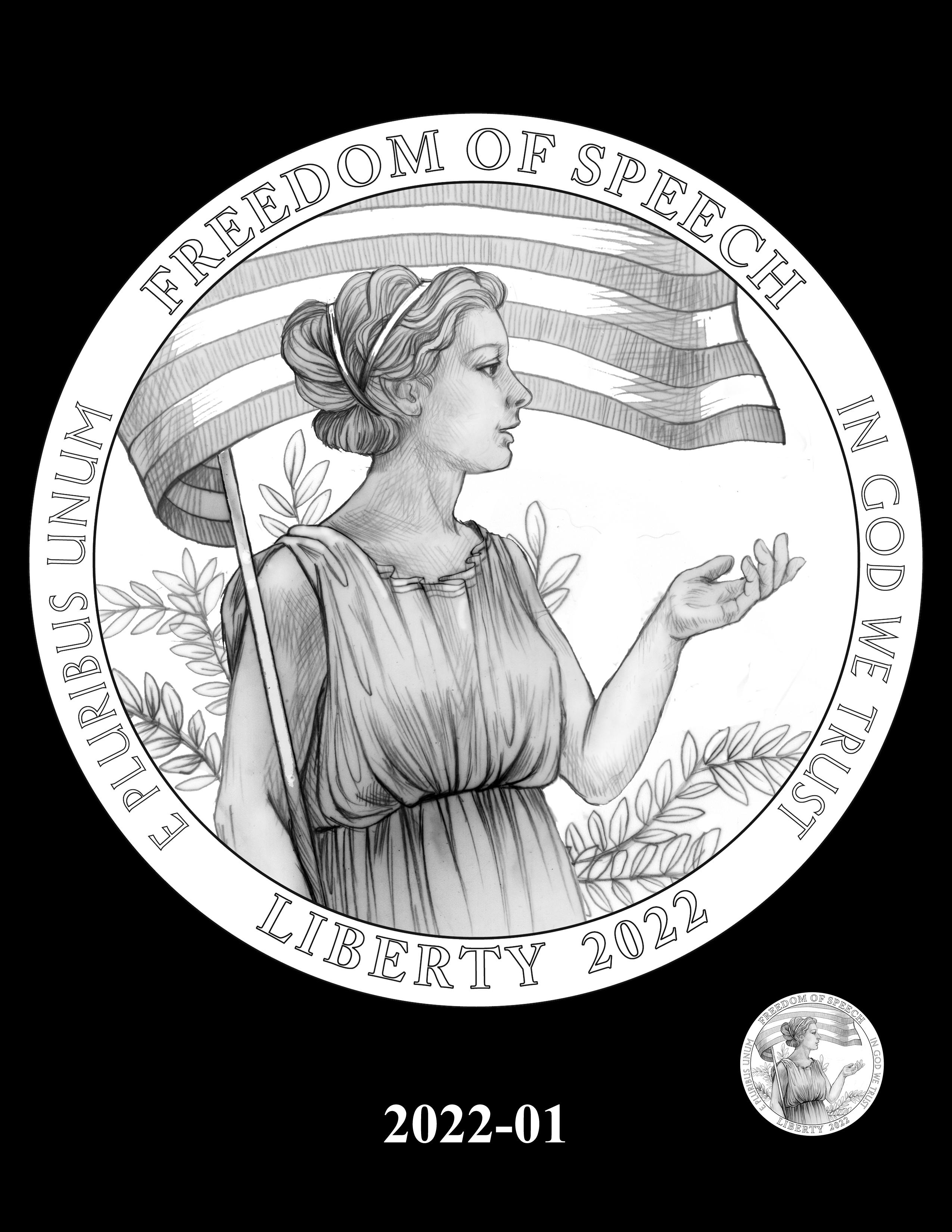 01-2022 -- 2021 - 2025 American Eagle Platinum Proof Program