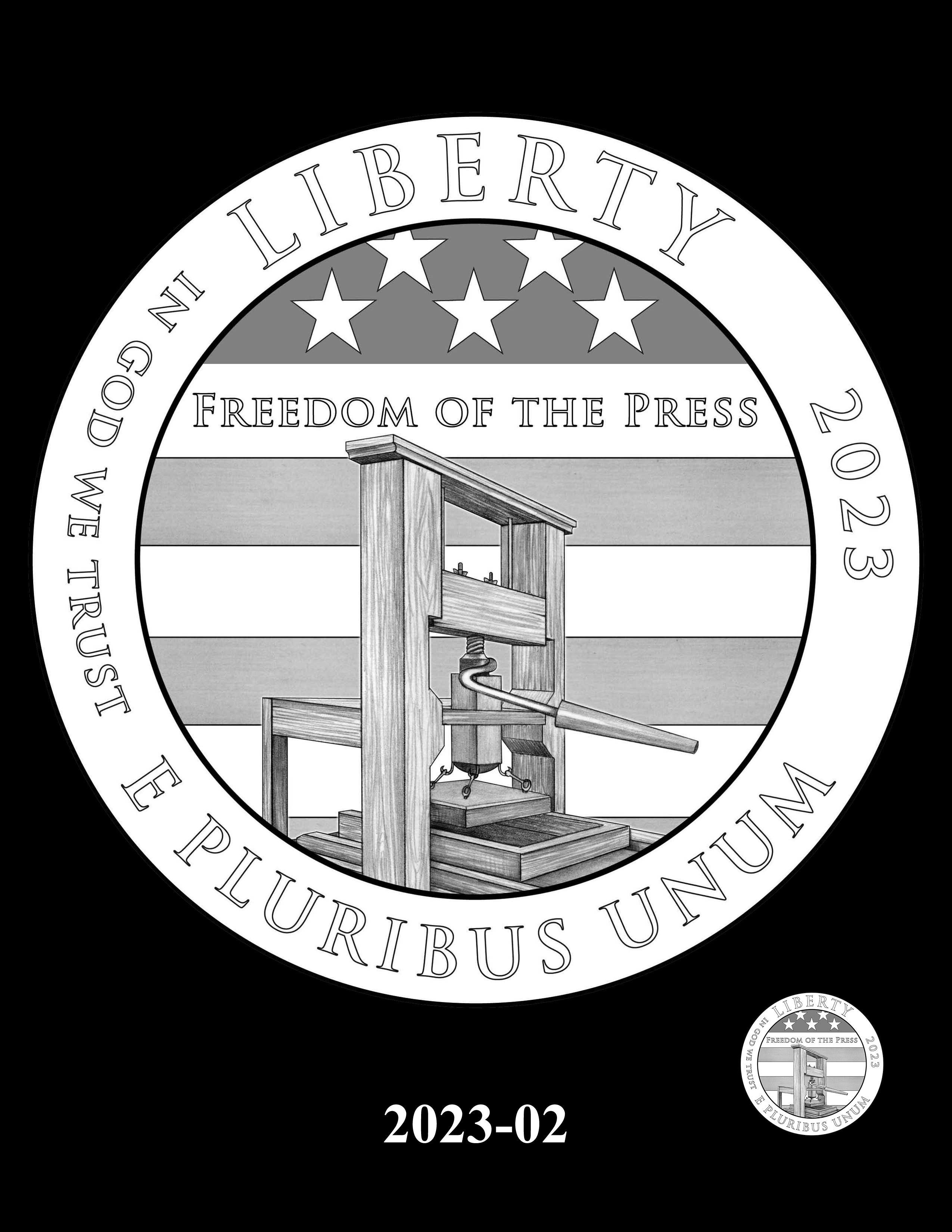 02-2023 -- 2021 - 2025 American Eagle Platinum Proof Program