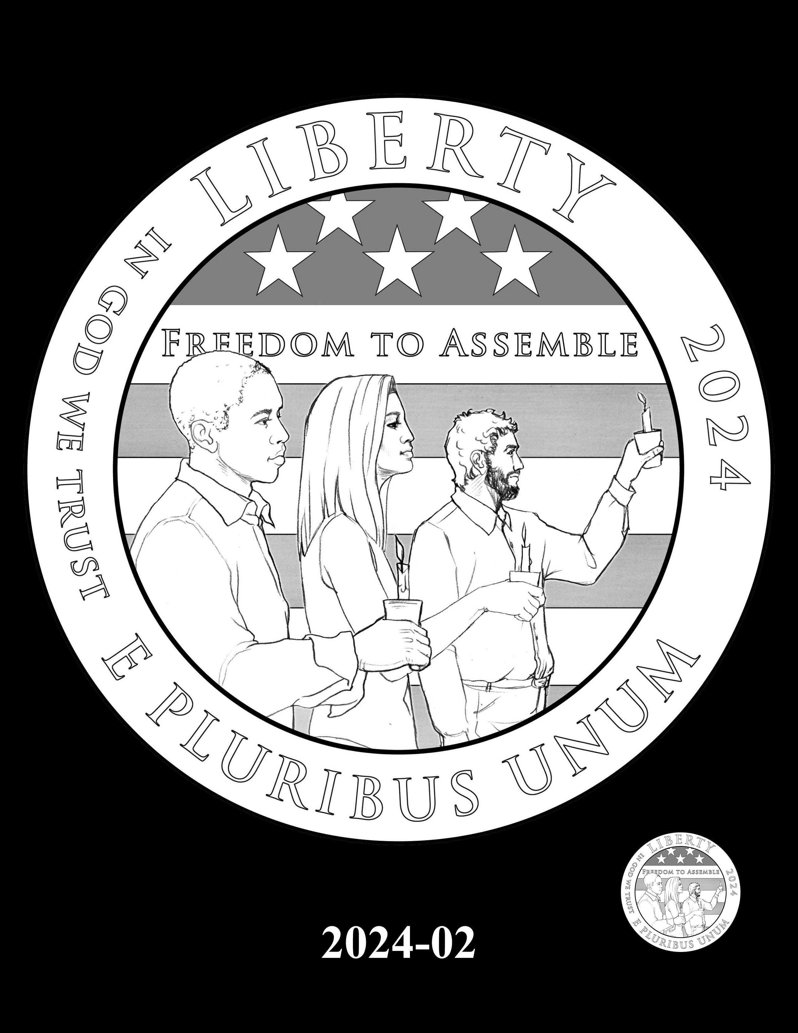 02-2024 -- 2021 - 2025 American Eagle Platinum Proof Program